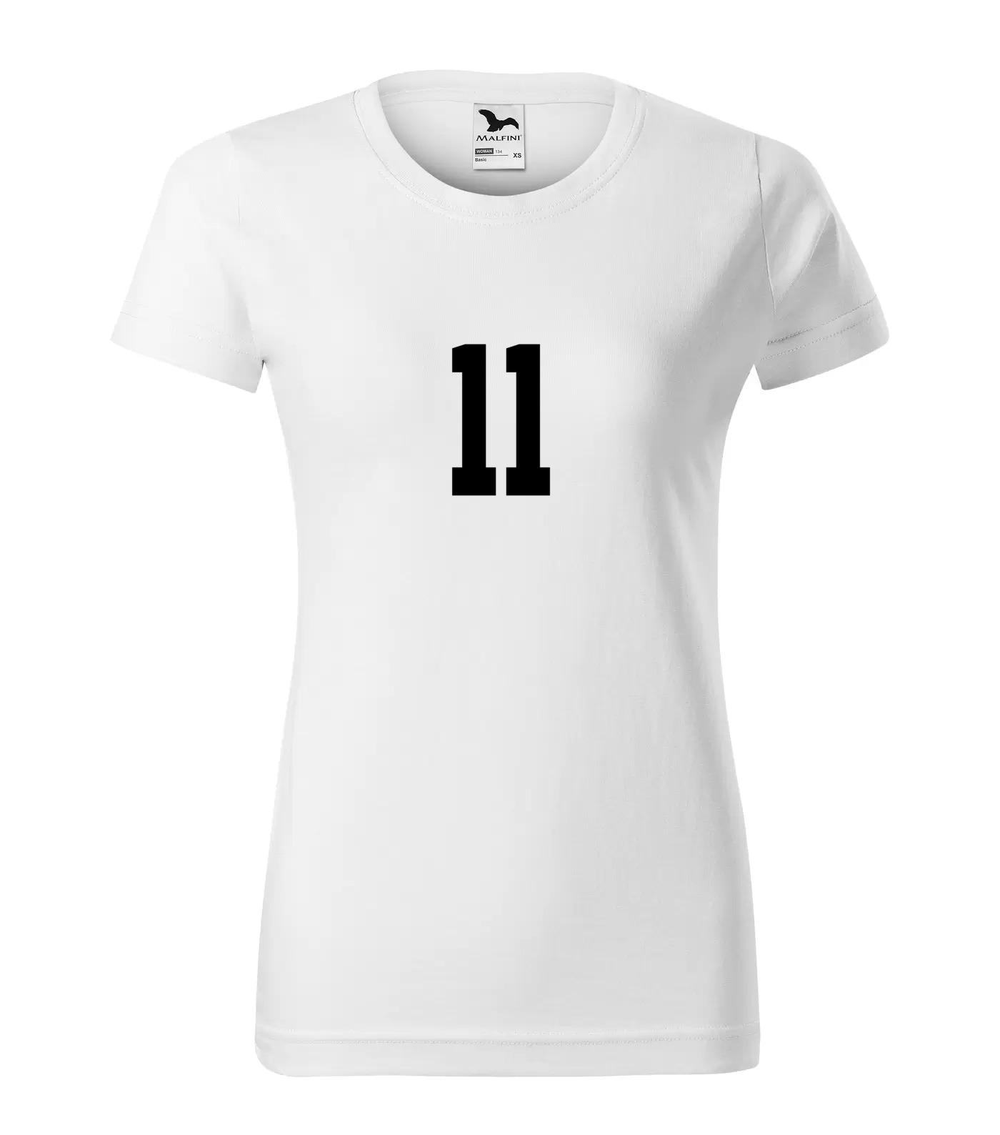 Tričko s číslem 11