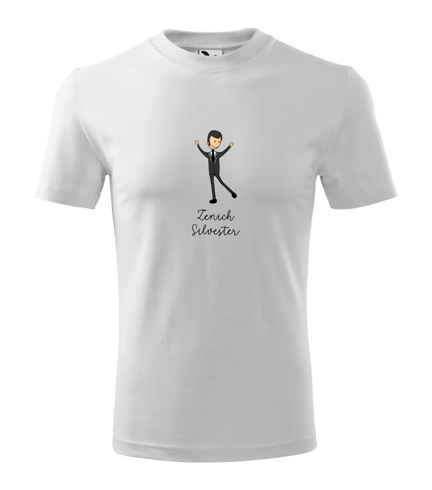 Tričko Ženich Silvester