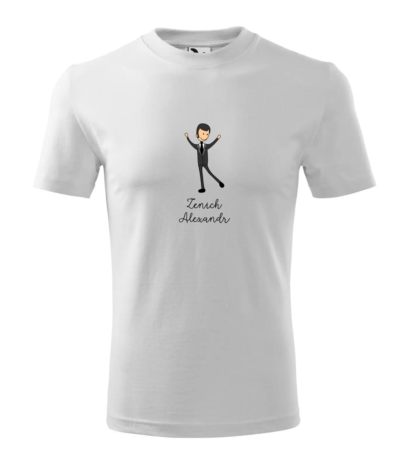 Tričko Ženich Alexandr