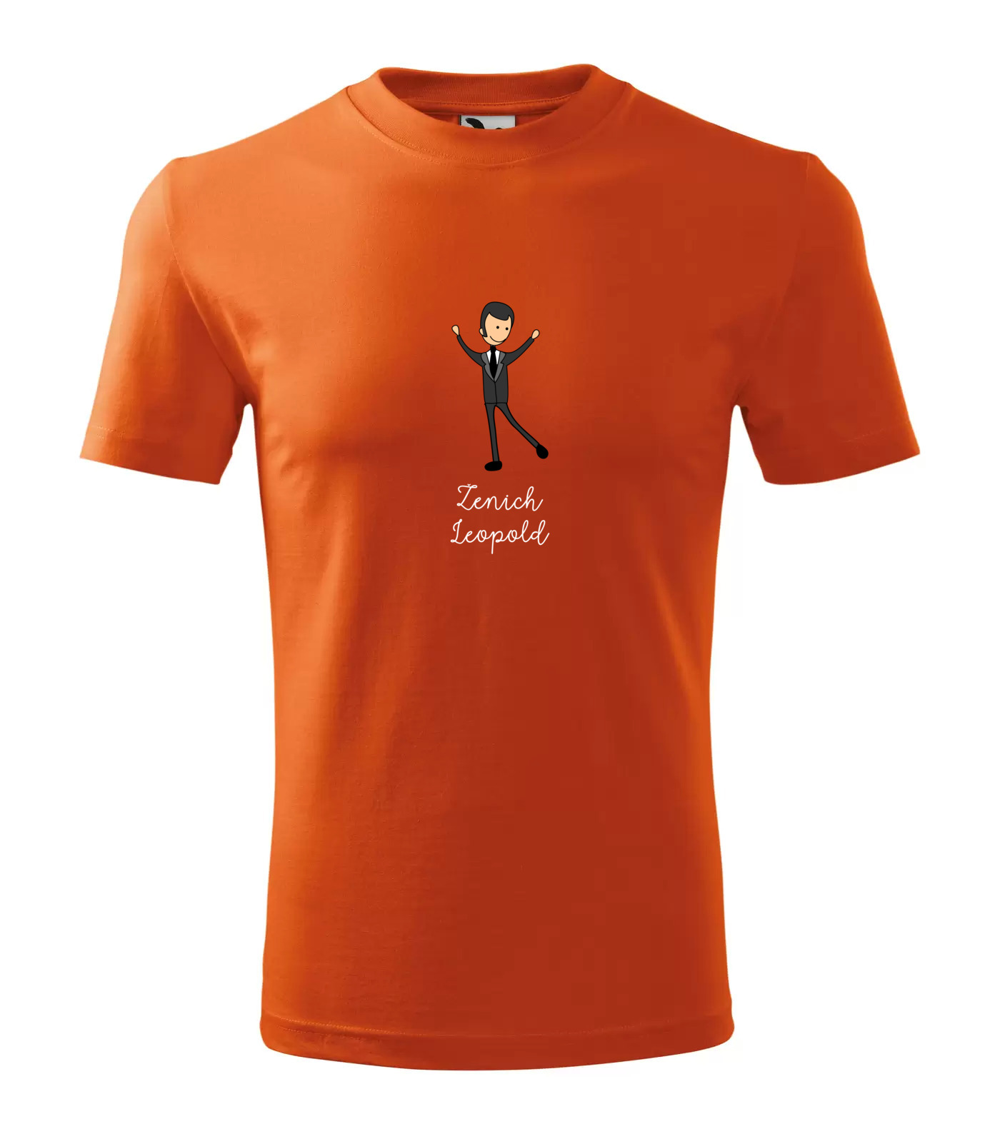 Tričko Ženich Leopold