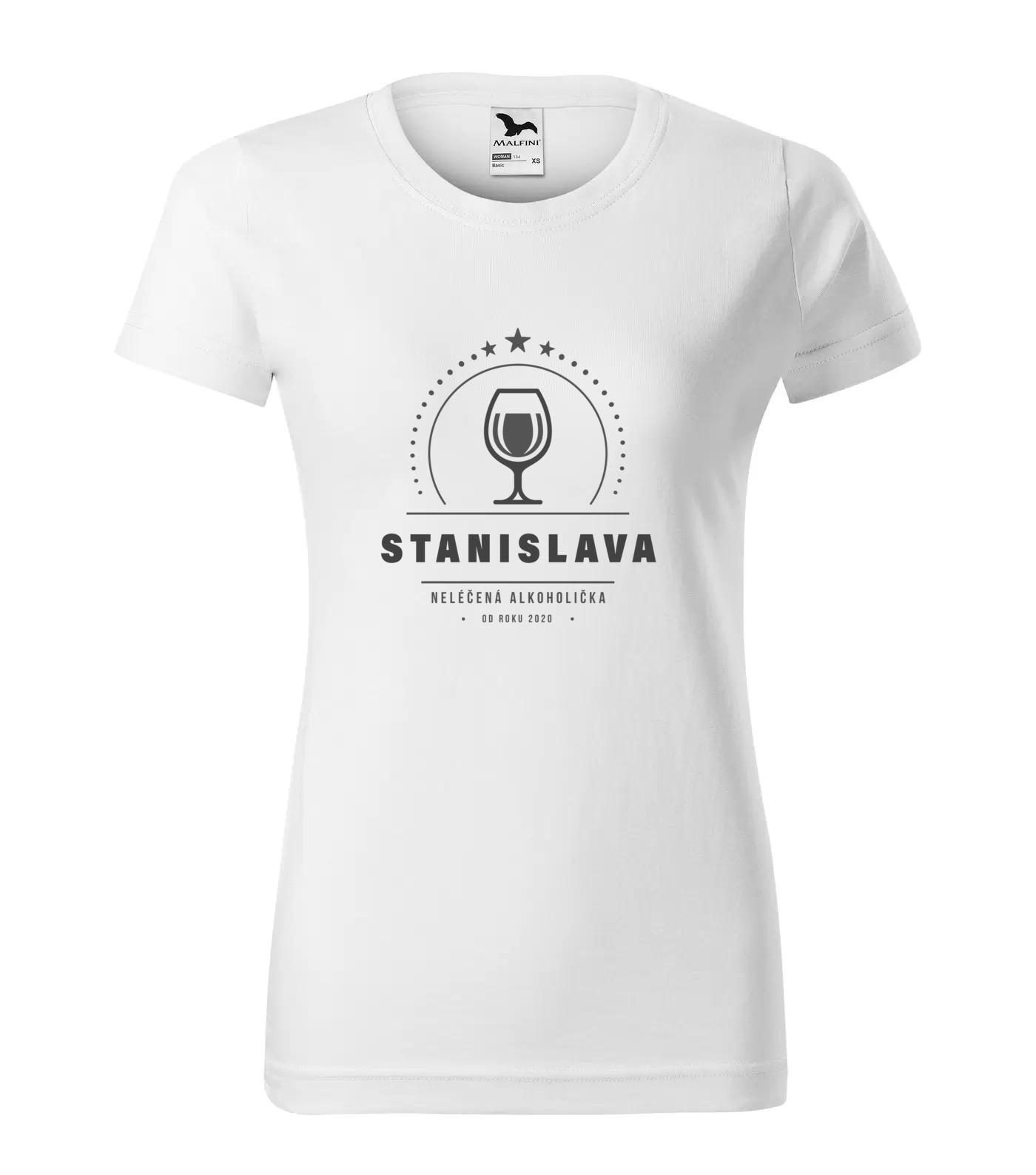 Tričko Alkoholička Stanislava