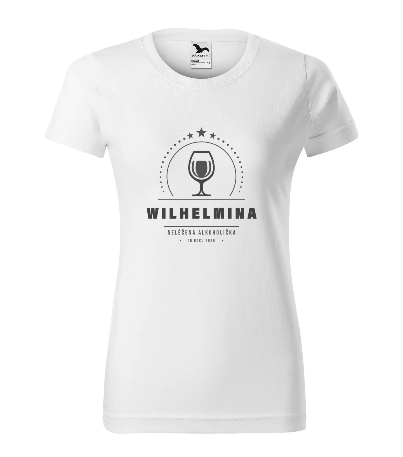 Tričko Alkoholička Wilhelmina