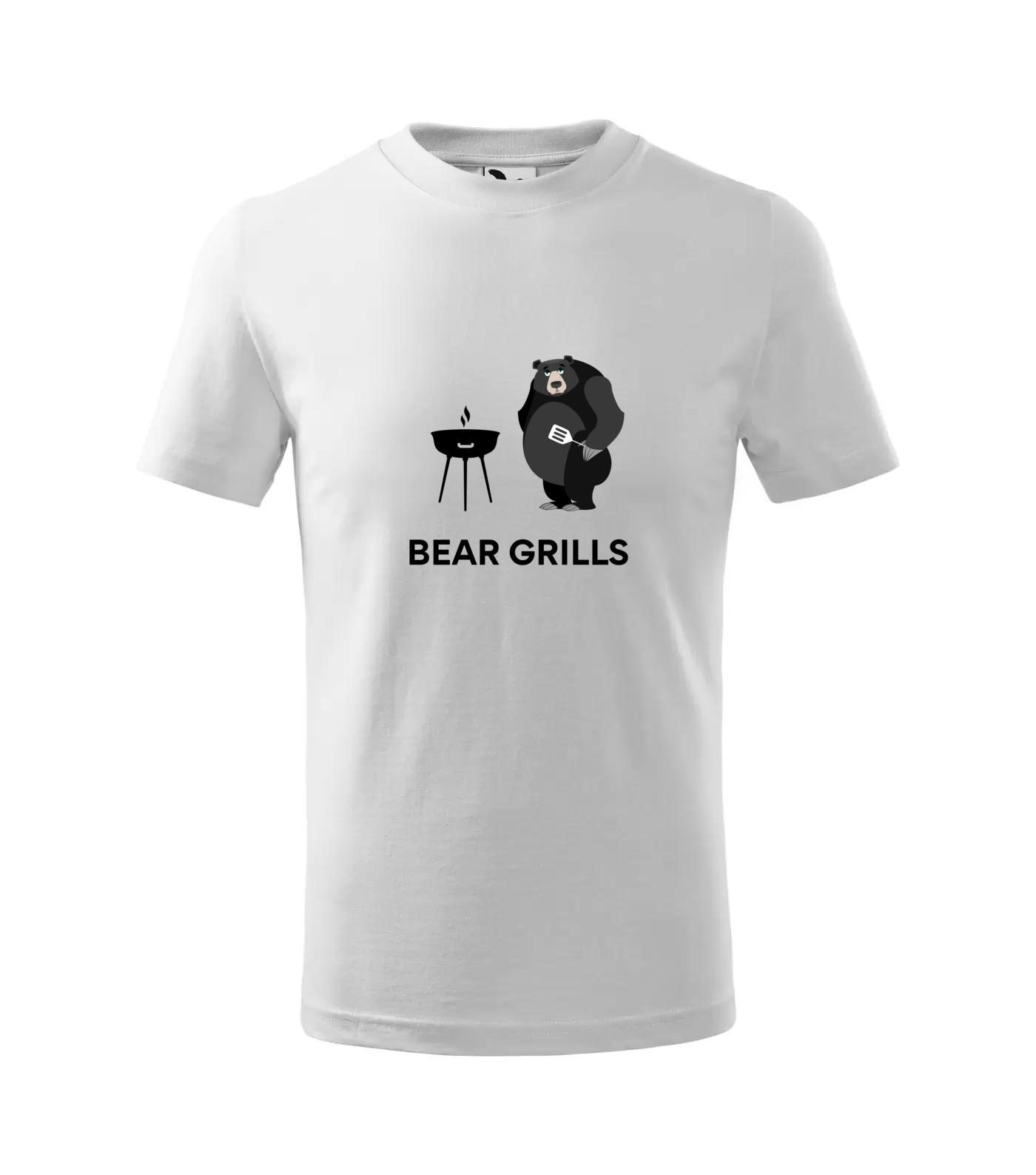 Tričko Bear Grills