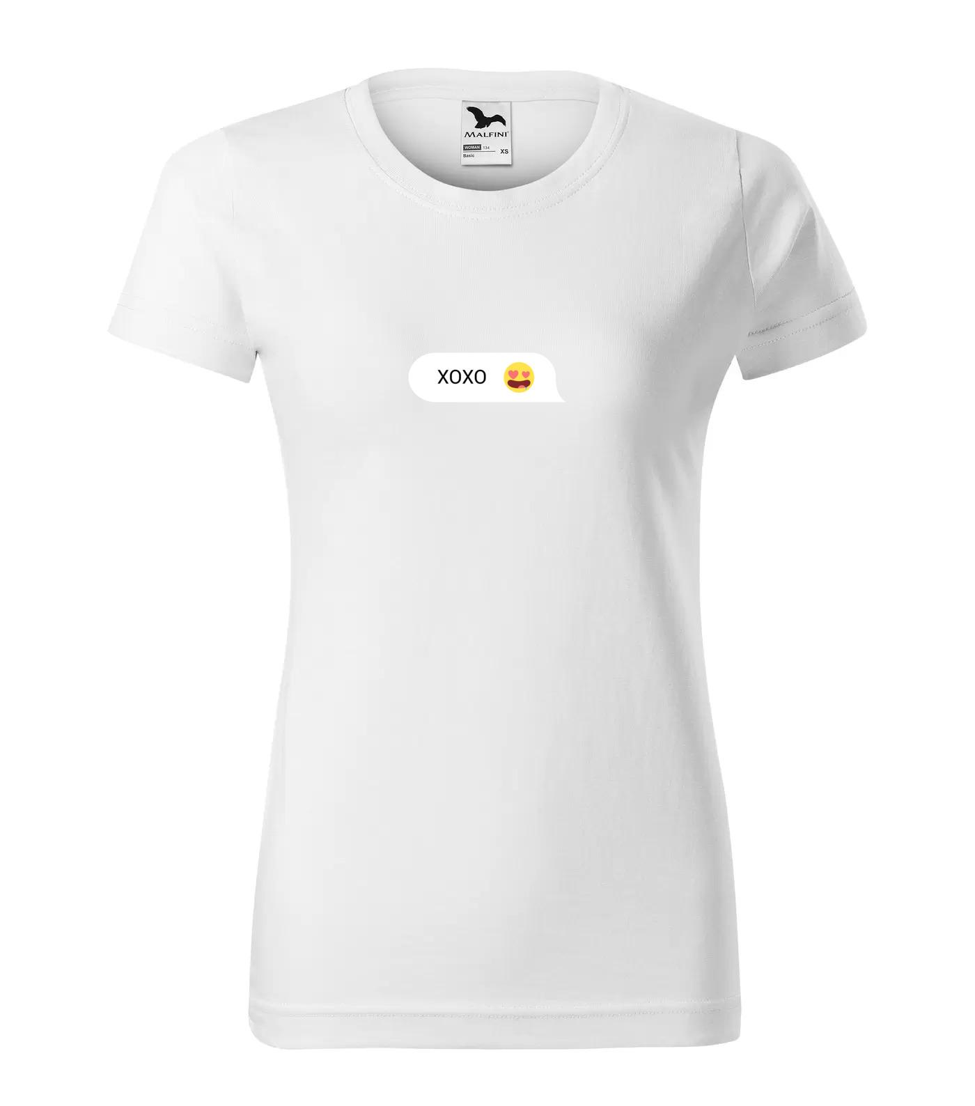 Chatovací Tričko XOXO