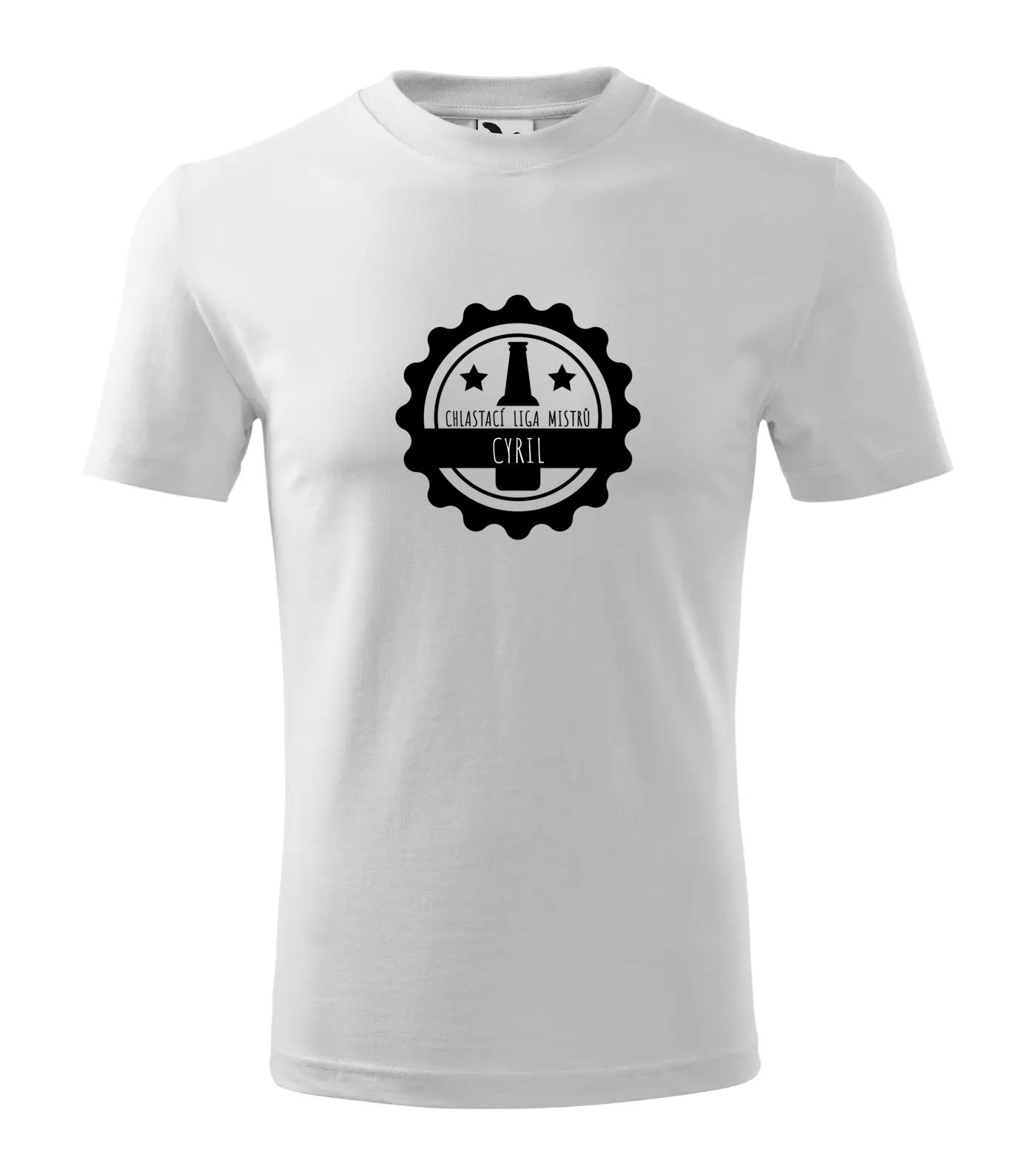 Tričko Chlastací liga mužů Cyril