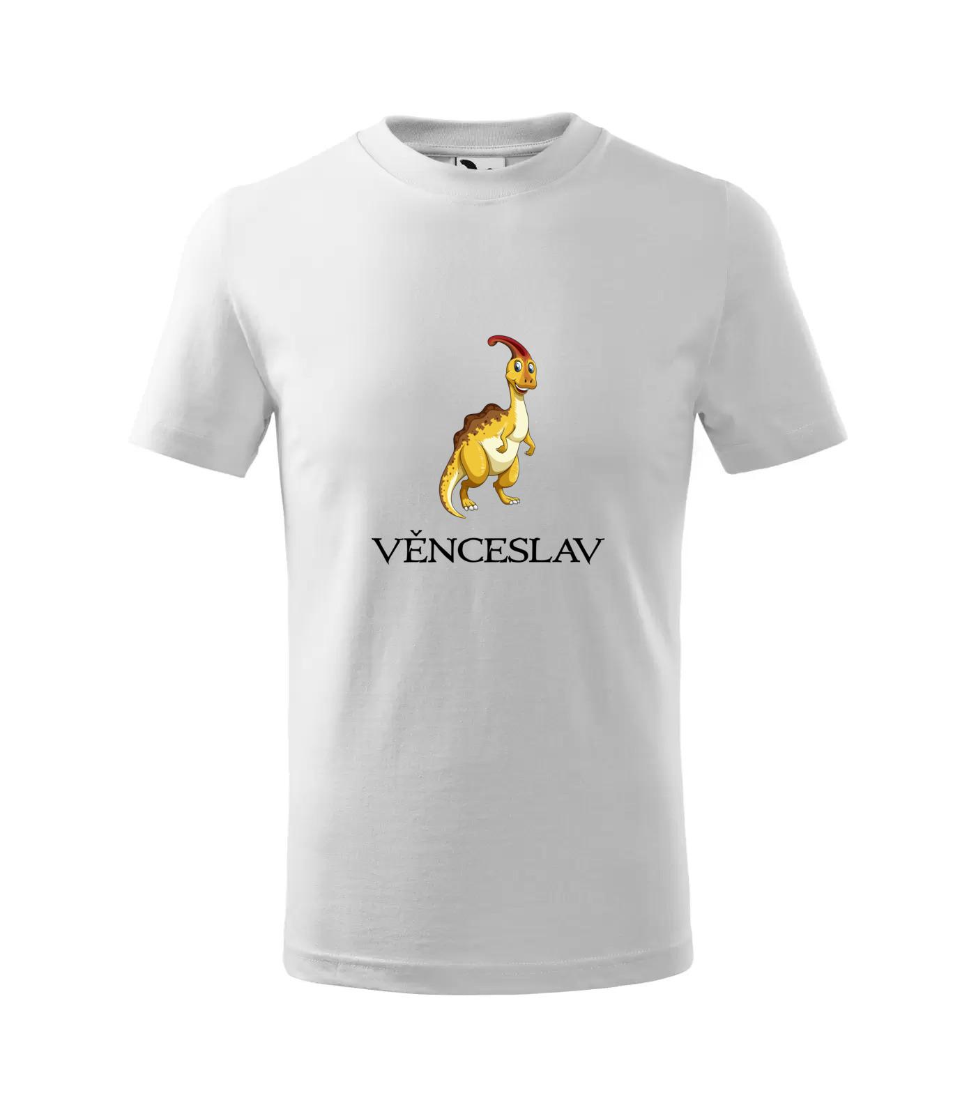 Tričko Dinosaurus Věnceslav