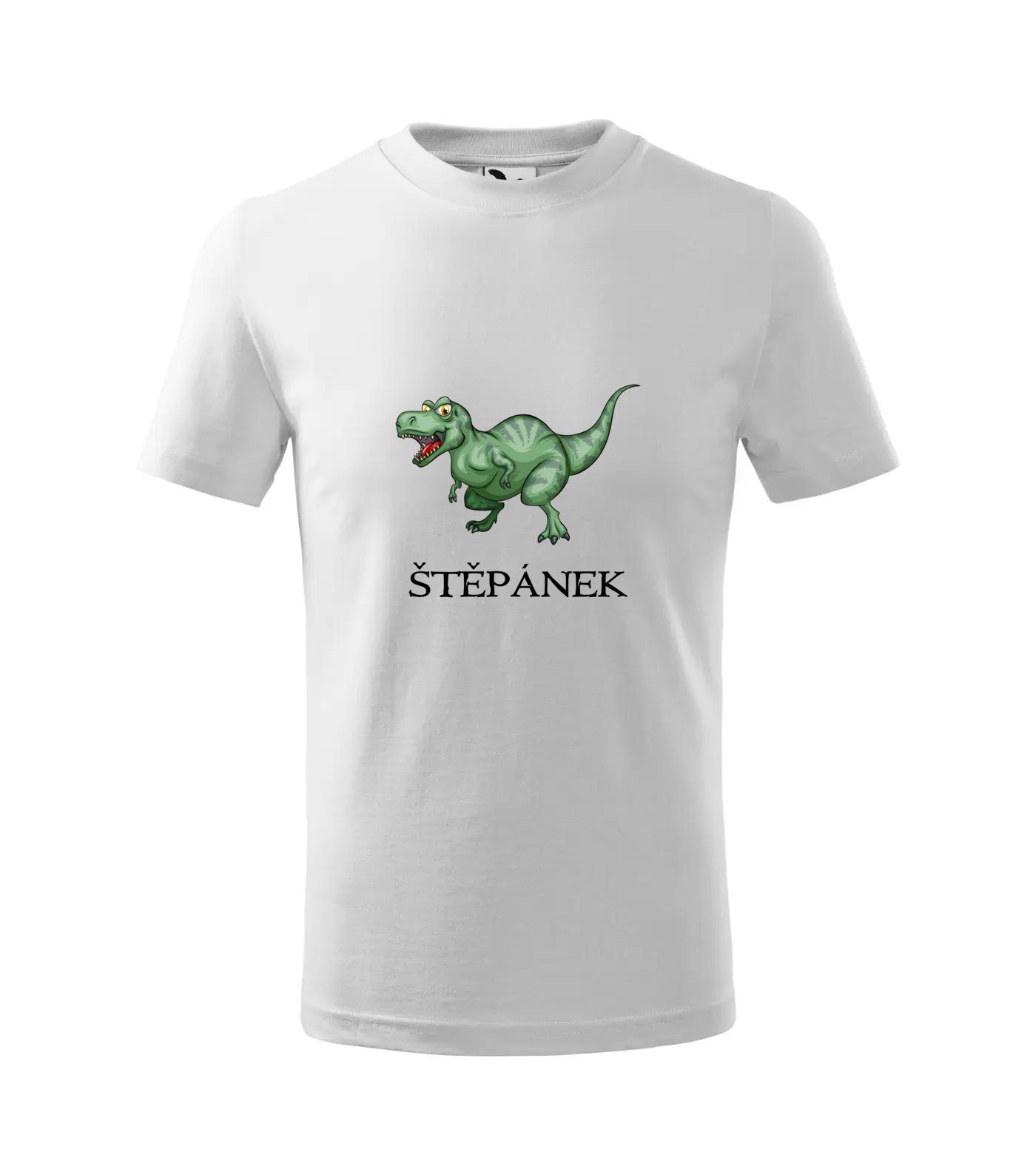 Tričko Dinosaurus Štěpánek