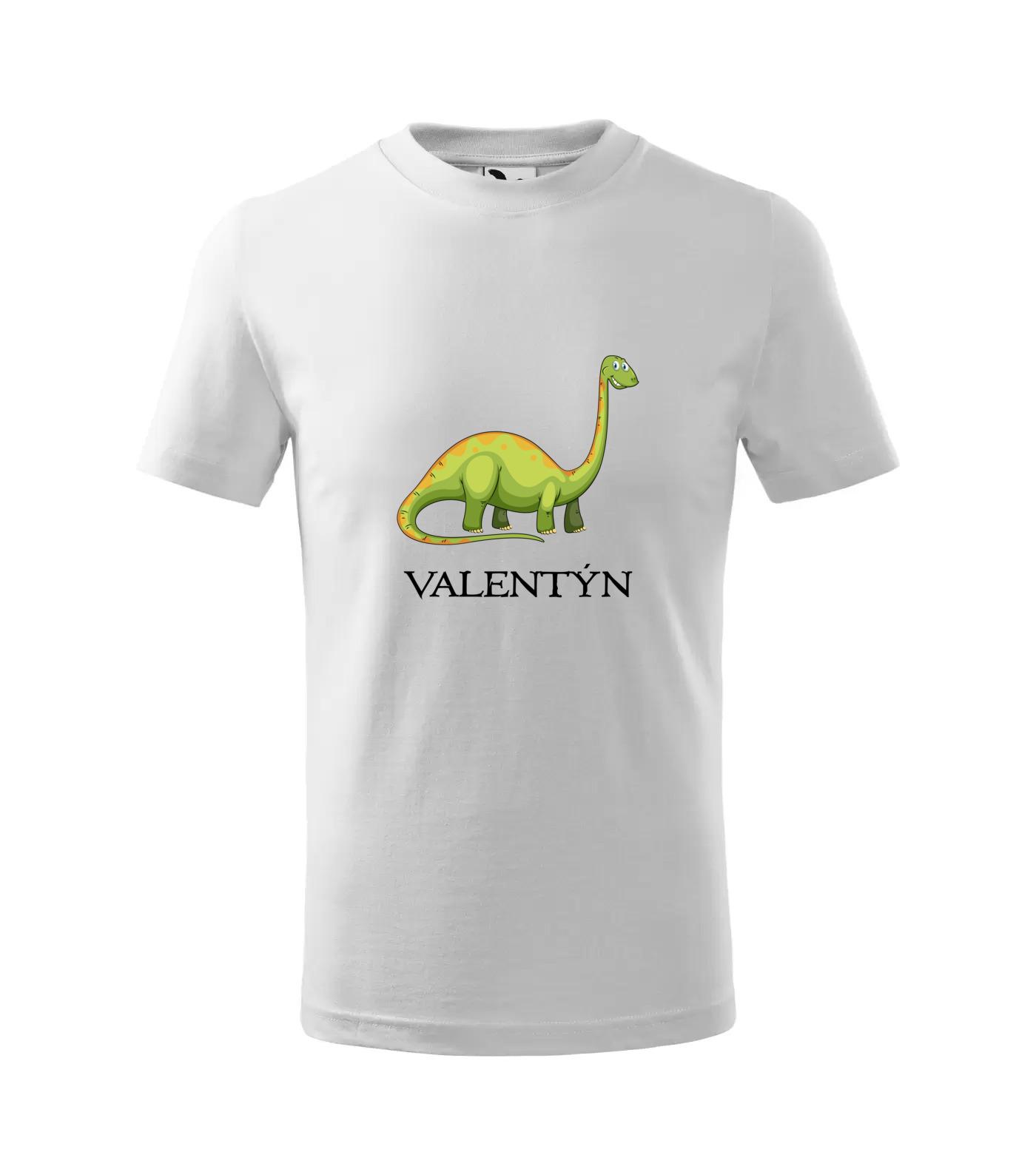 Tričko Dinosaurus Valentýn