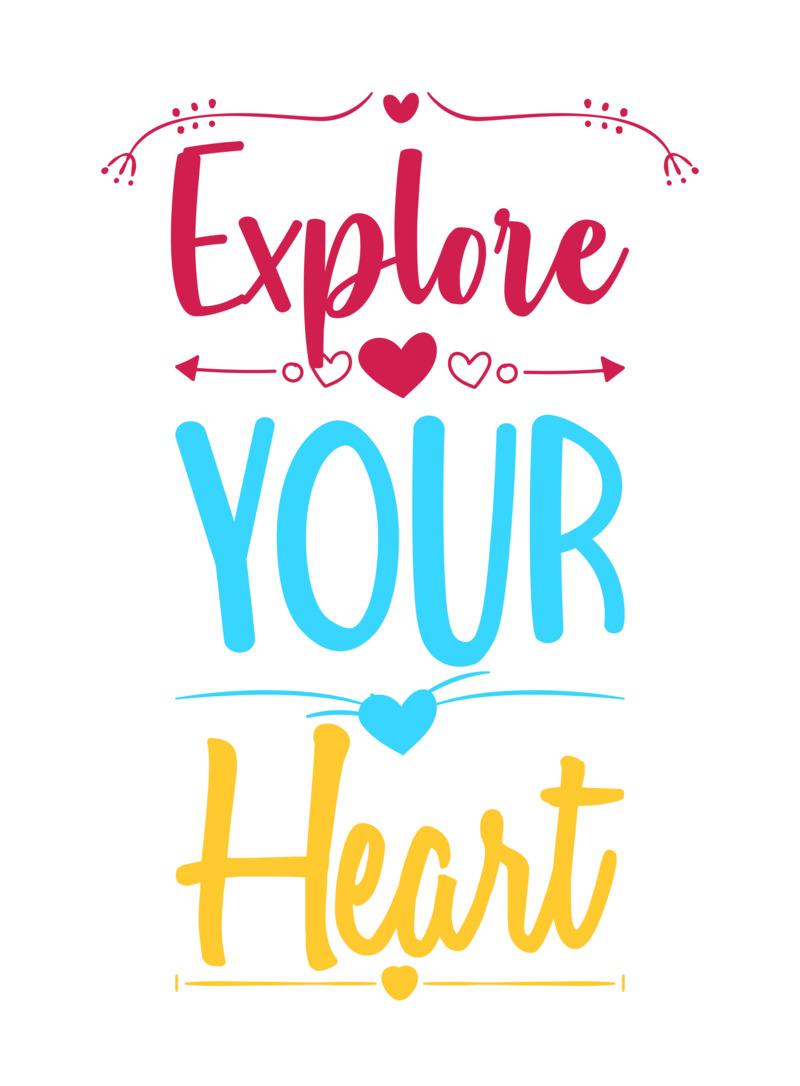 Tričko Explore Your Heart