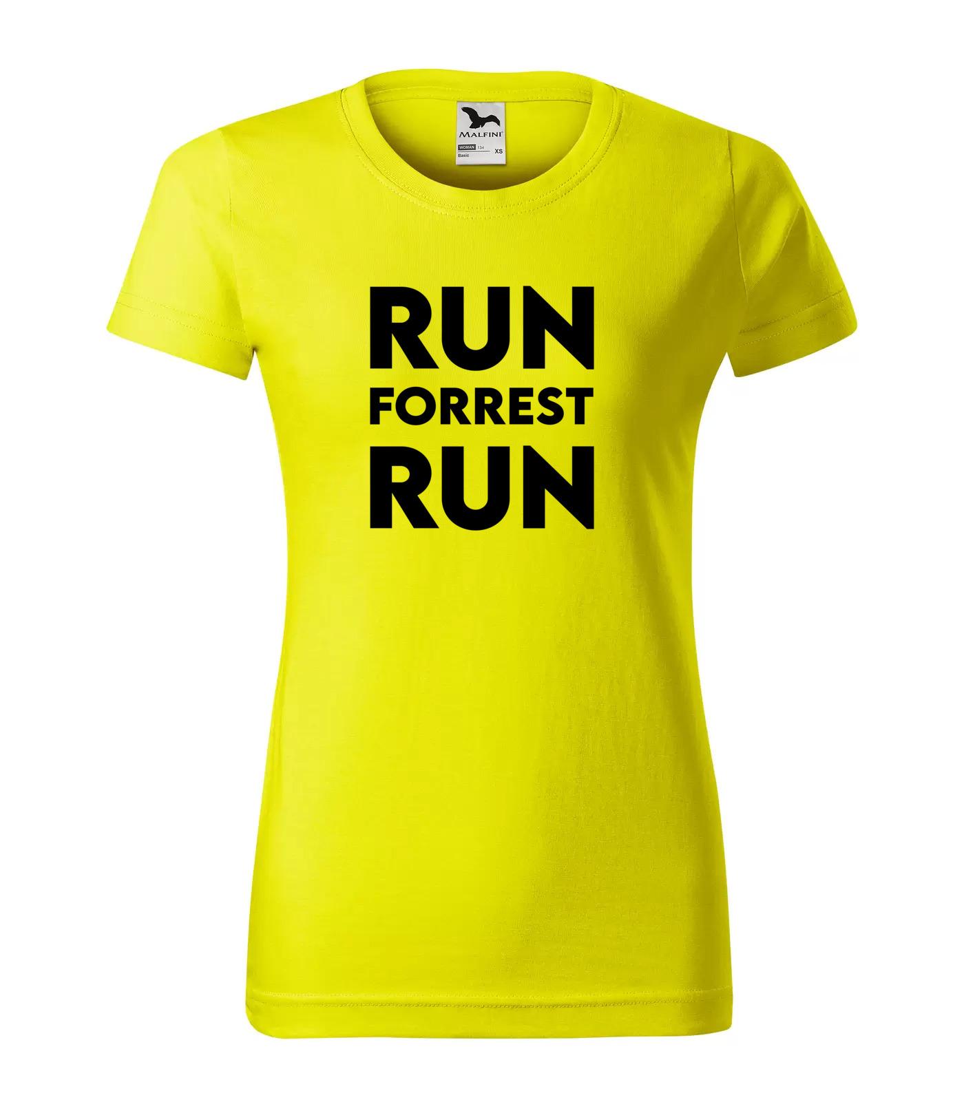 Tričko Filmové hlášky Run Forrest Run