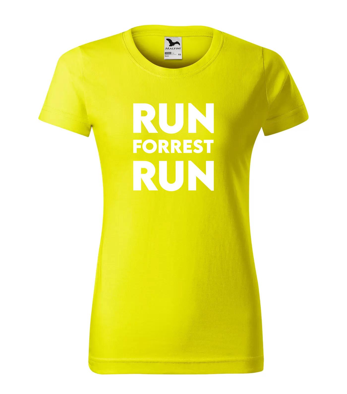 Tričko Filmové hlášky Run Forrest Run Inverse