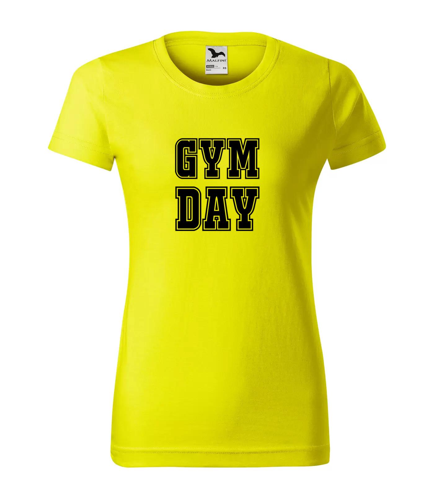 Tričko Gym Day