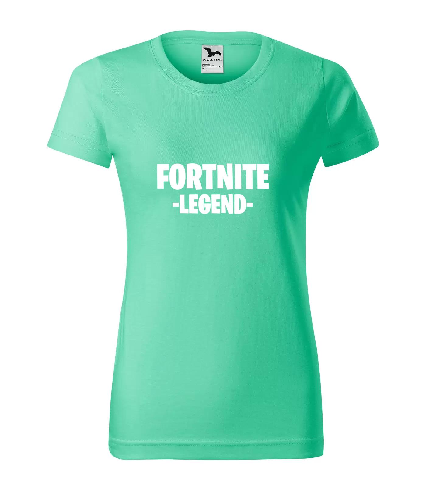 Tričko Fortnite Legend Bílá 1