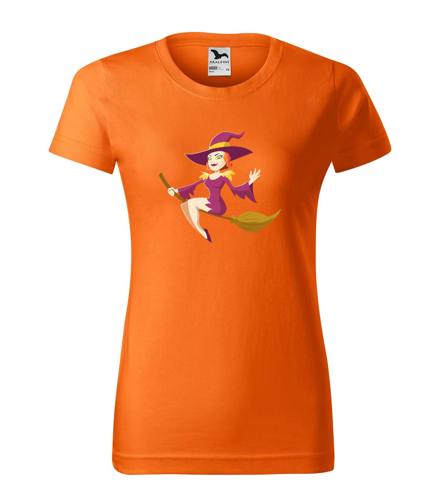 Tričko Halloween Čarodějka