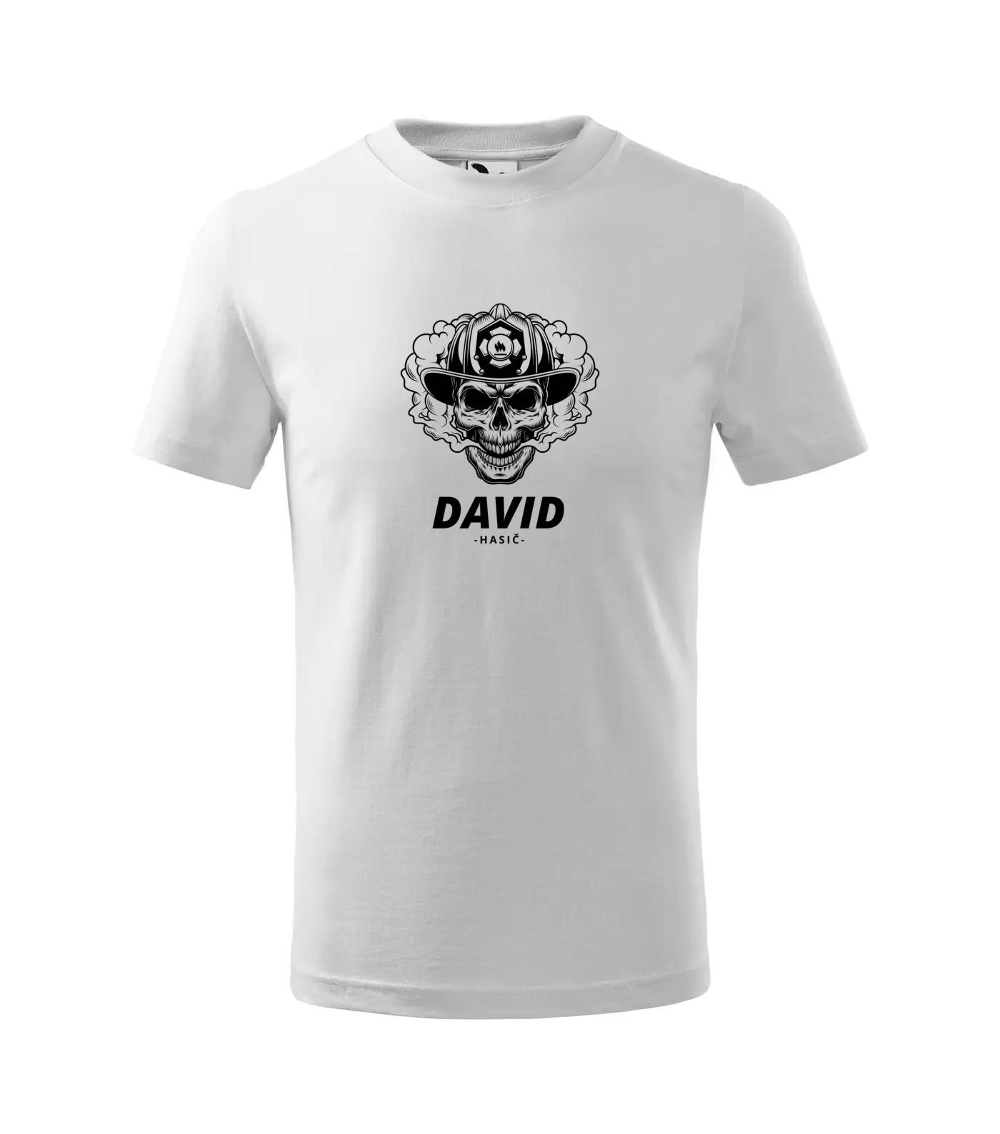 Tričko Hasič David