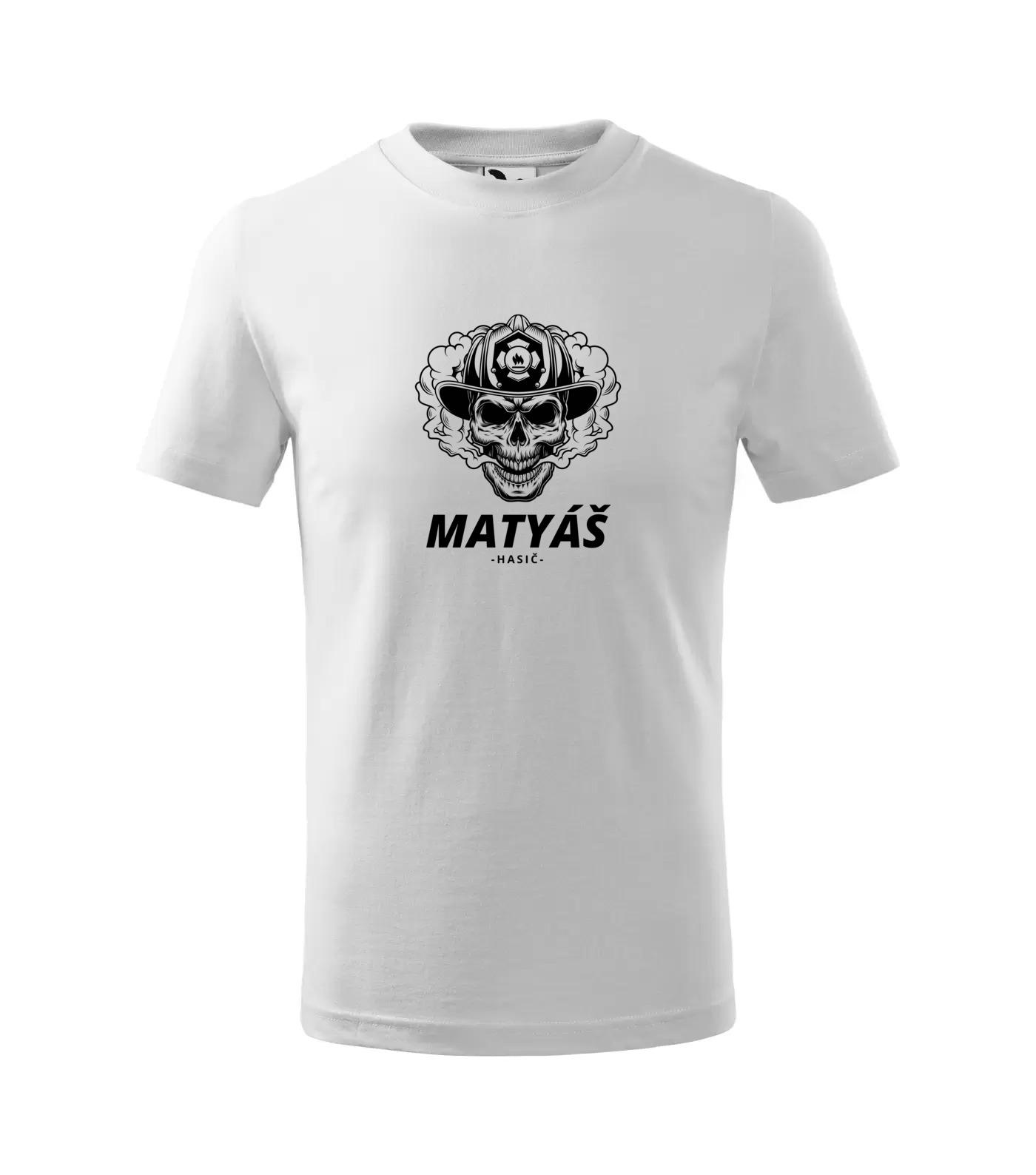 Tričko Hasič Matyáš