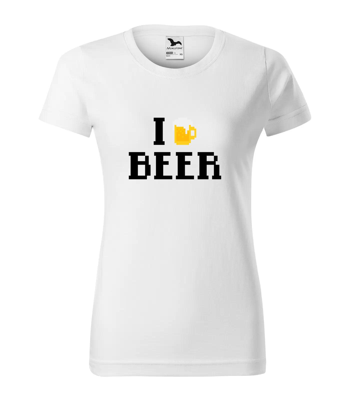 Tričko I love beer Verze 2