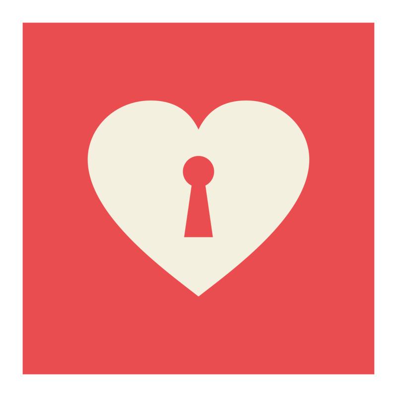 Tričko I Love You Locked Heart