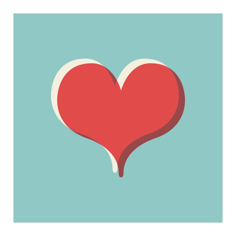 Tričko I Love You Heart