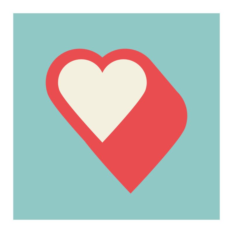Tričko I Love You Pumping Heart