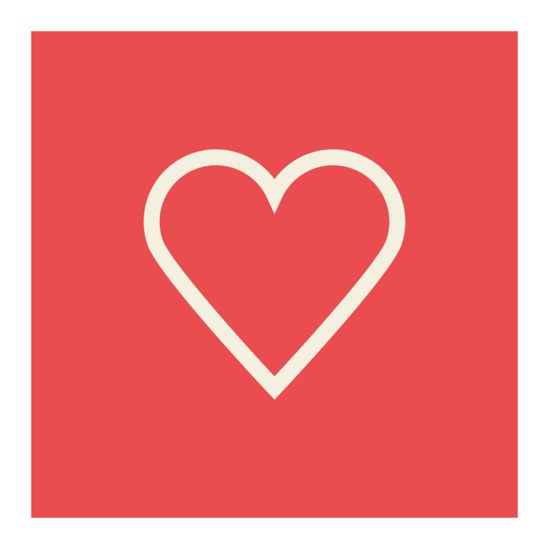 Tričko I Love You Inverse Heart