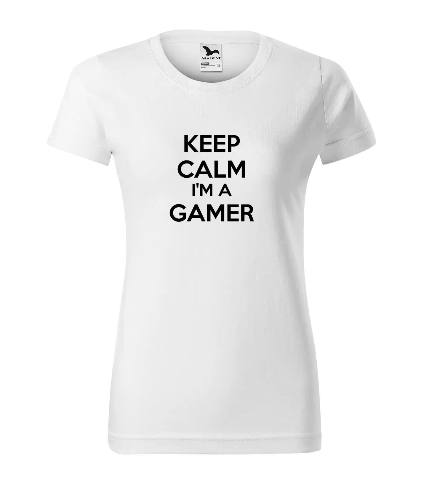 Tričko Keep Calm Gamer