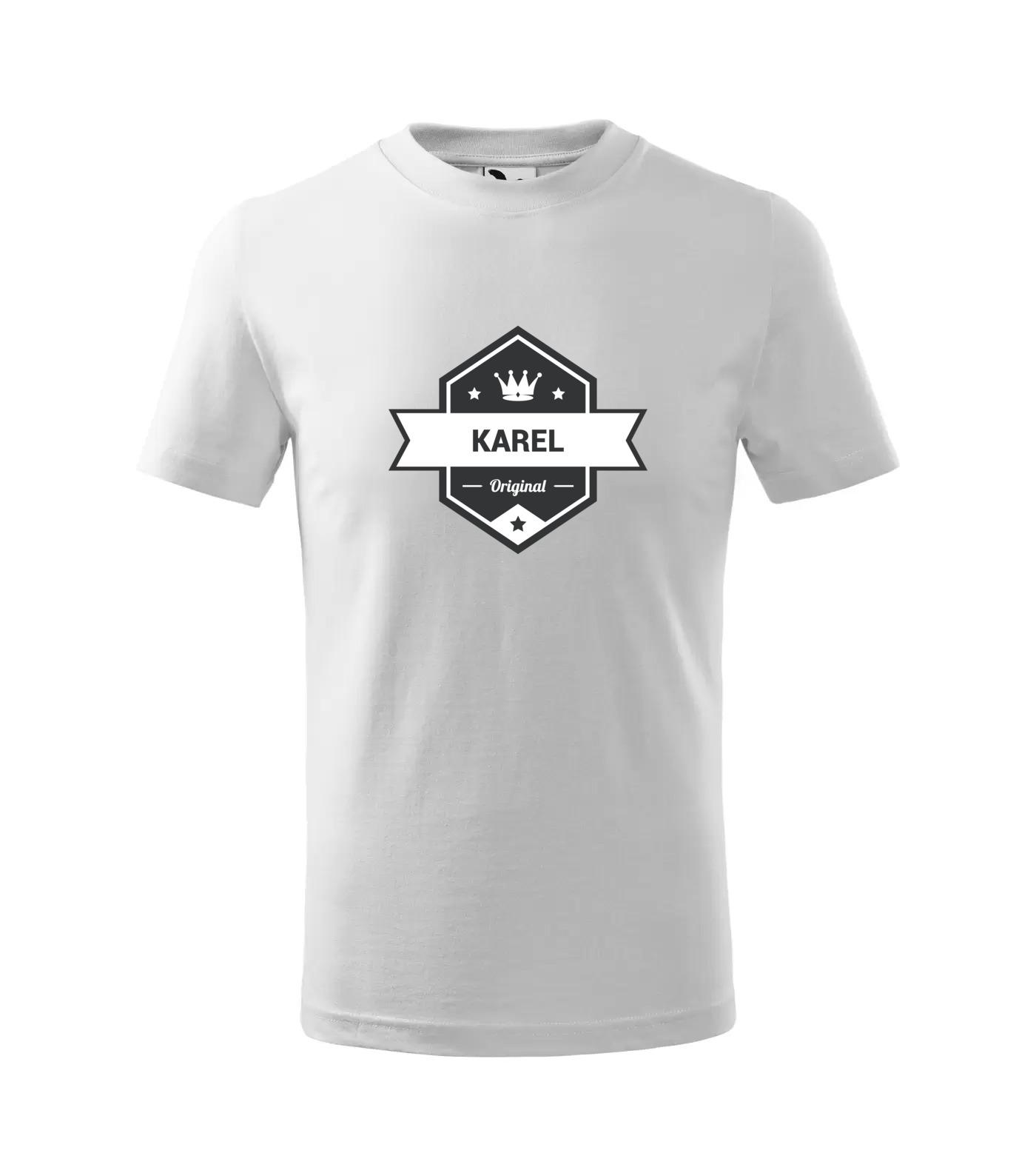 Tričko King Karel