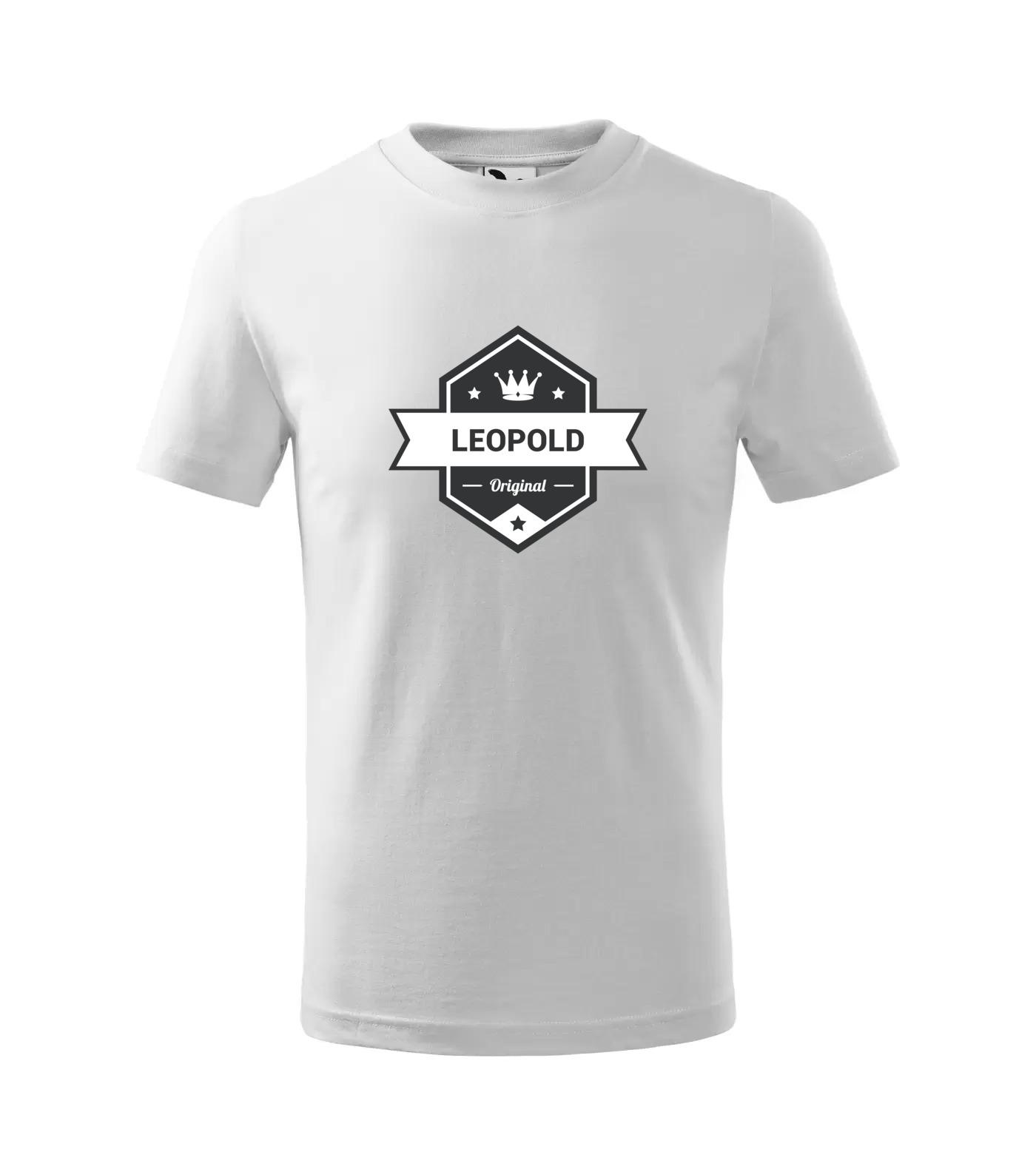 Tričko King Leopold