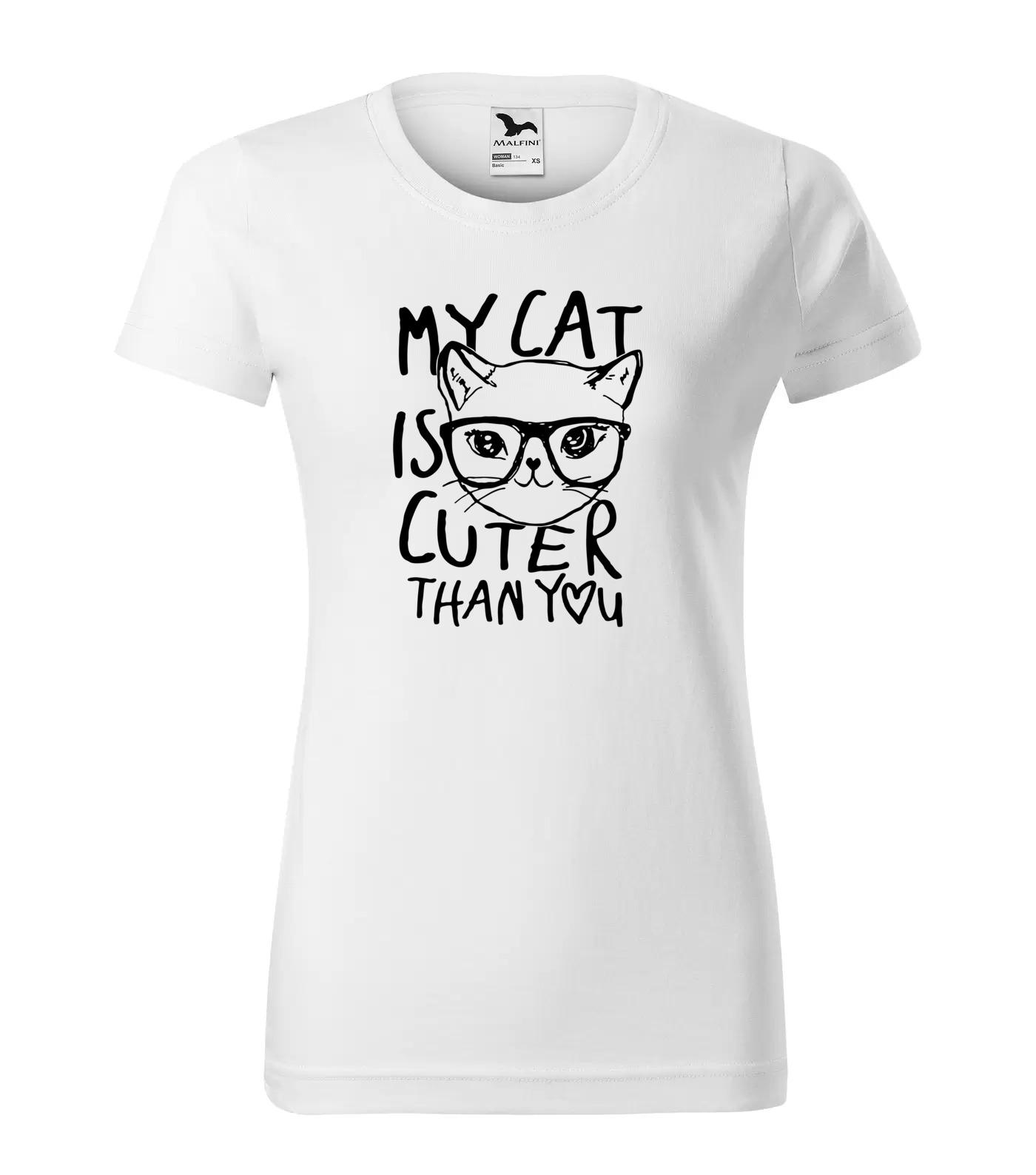 Tričko Kočičí Roztomilá