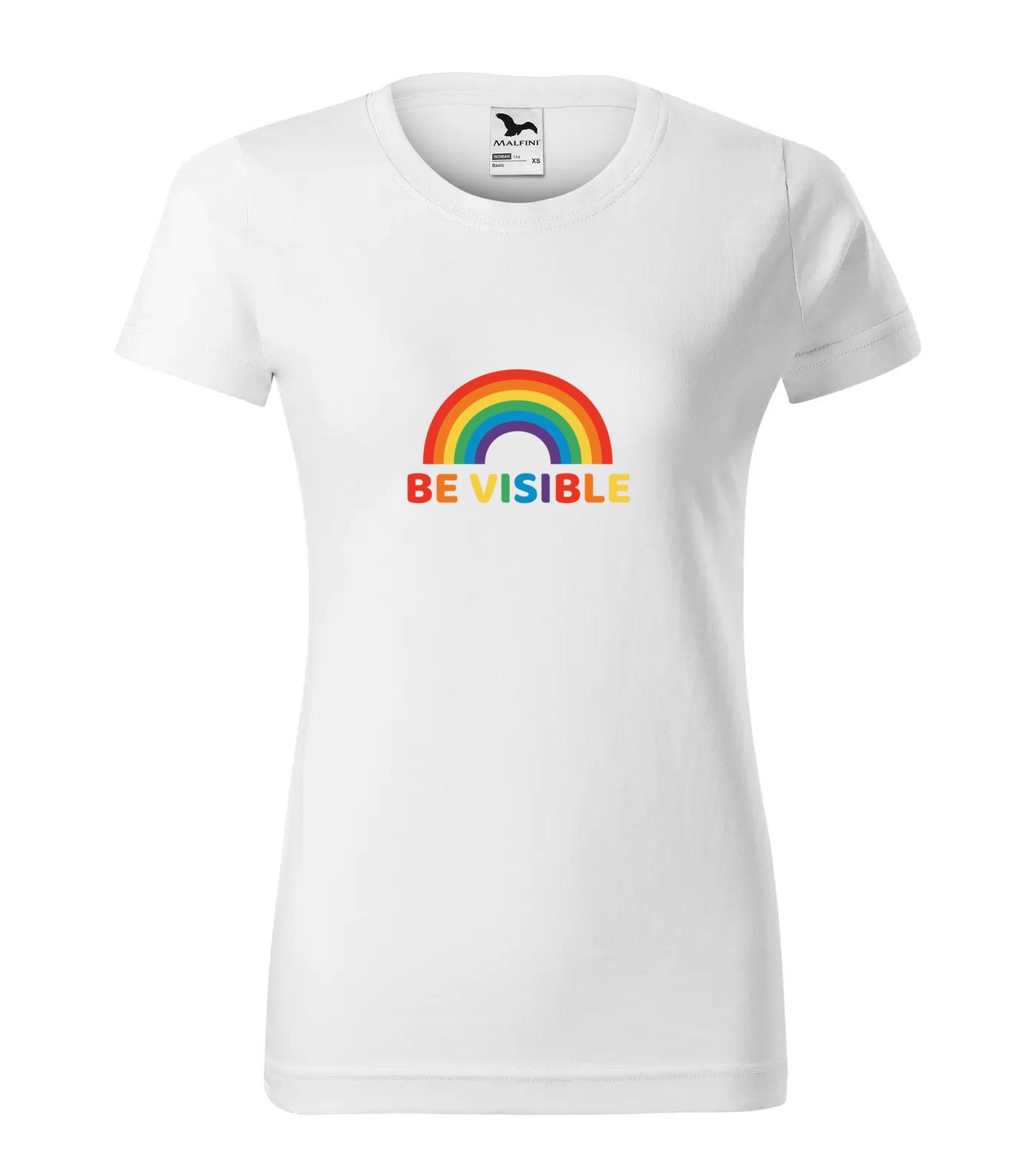 Tričko LGBT BeVisible
