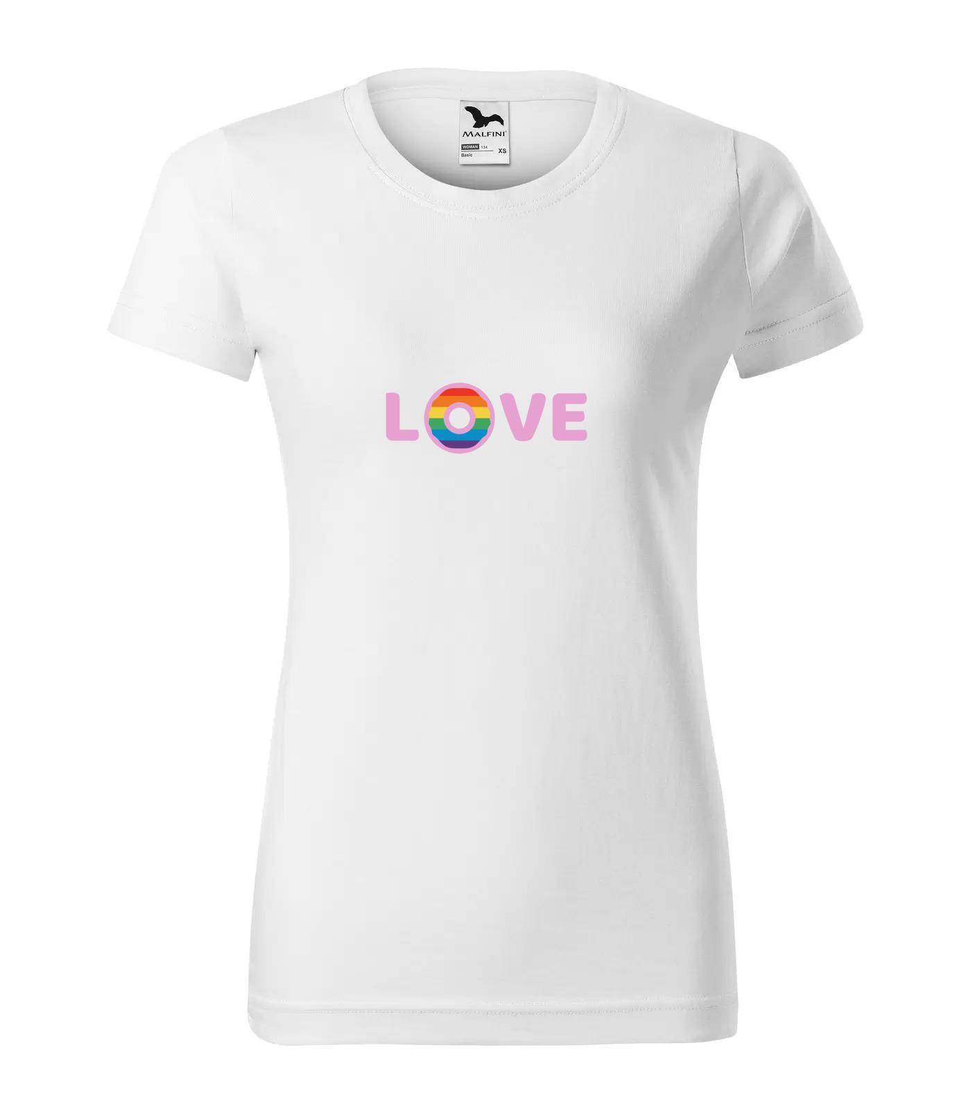 Tričko LGBT Love