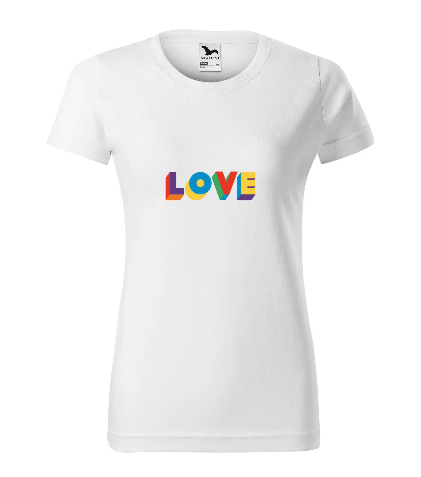 Tričko LGBT Love2