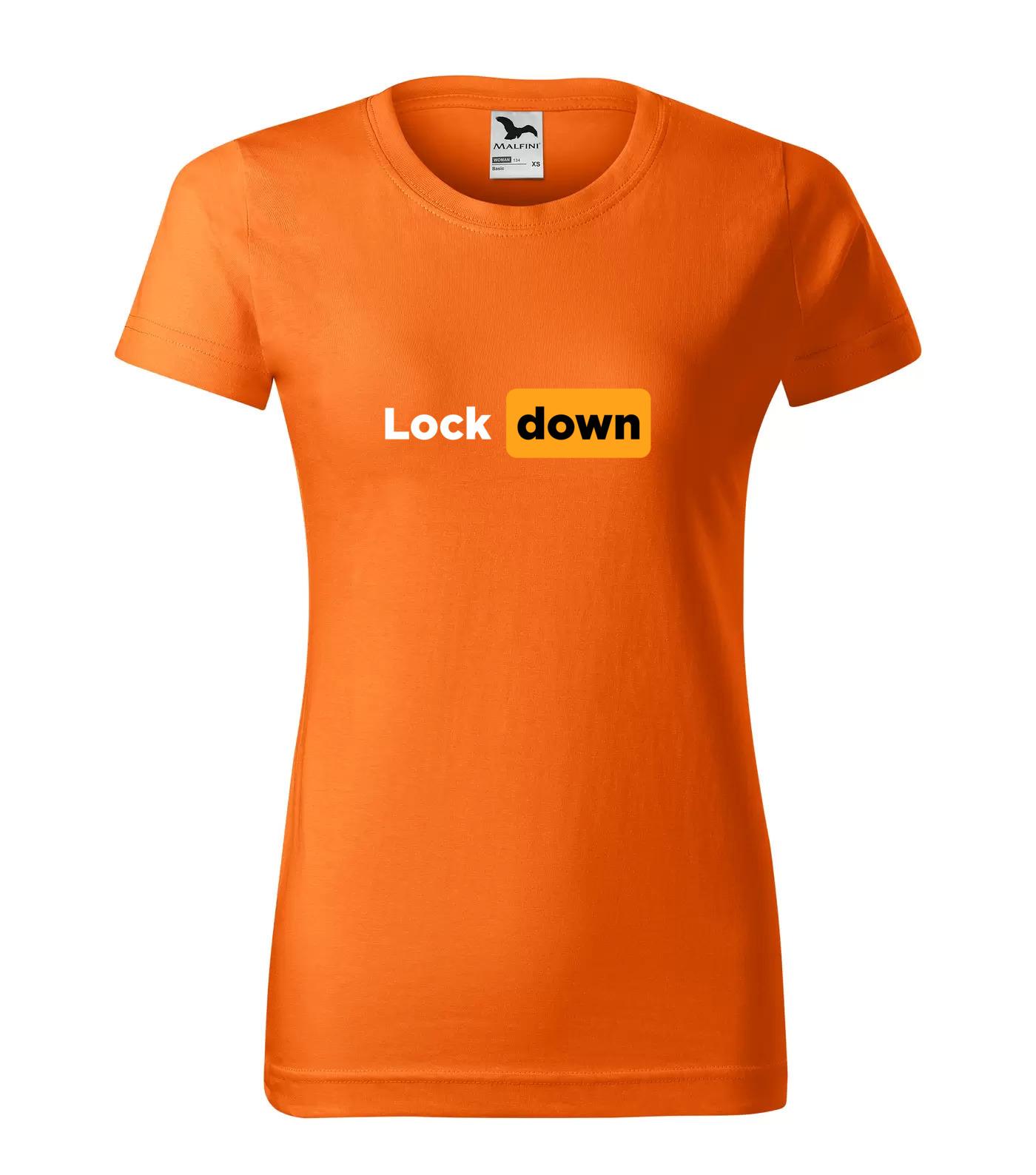 Tričko LockDown Lock Down Bílá