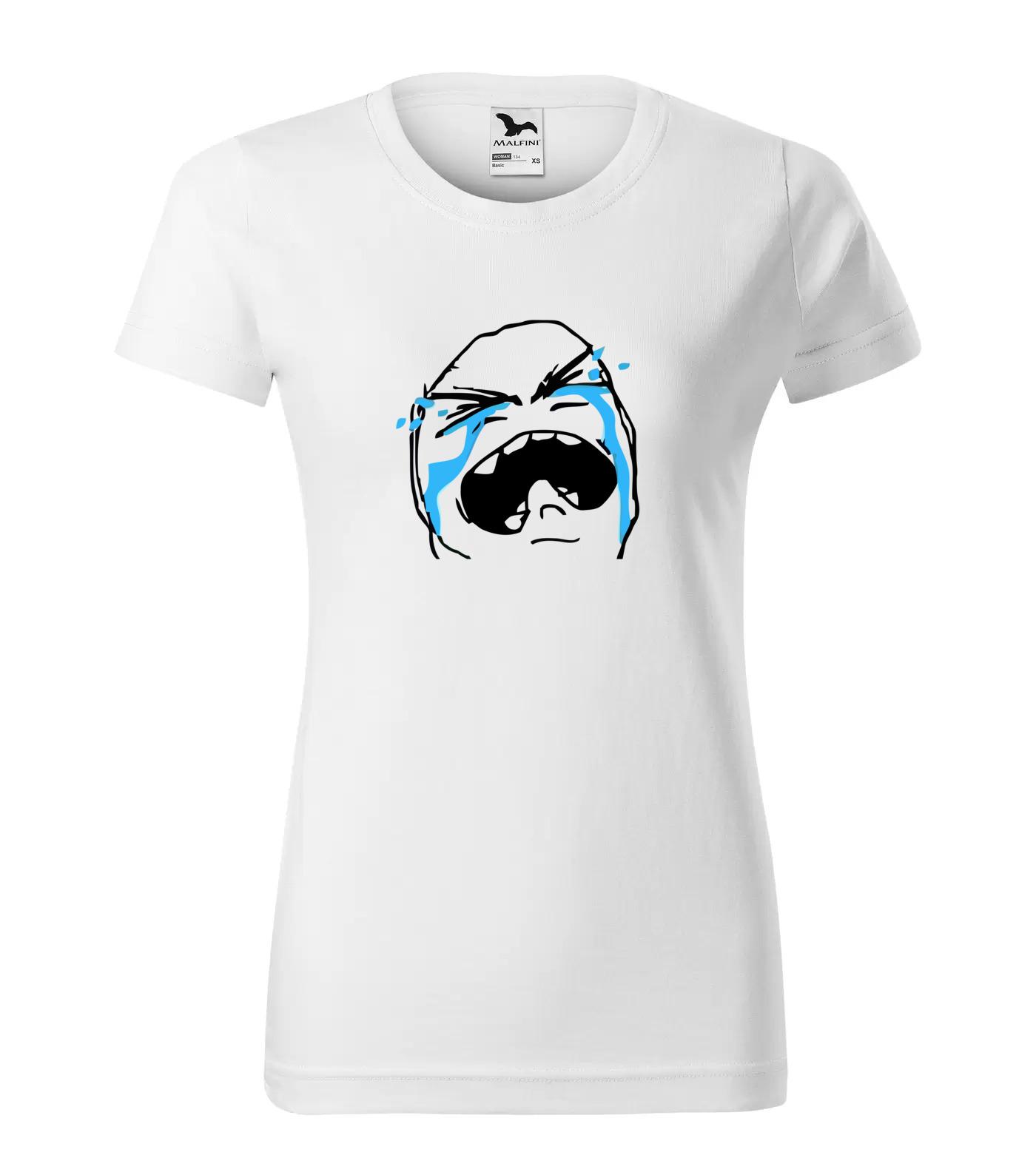 Tričko Meme Face Crying