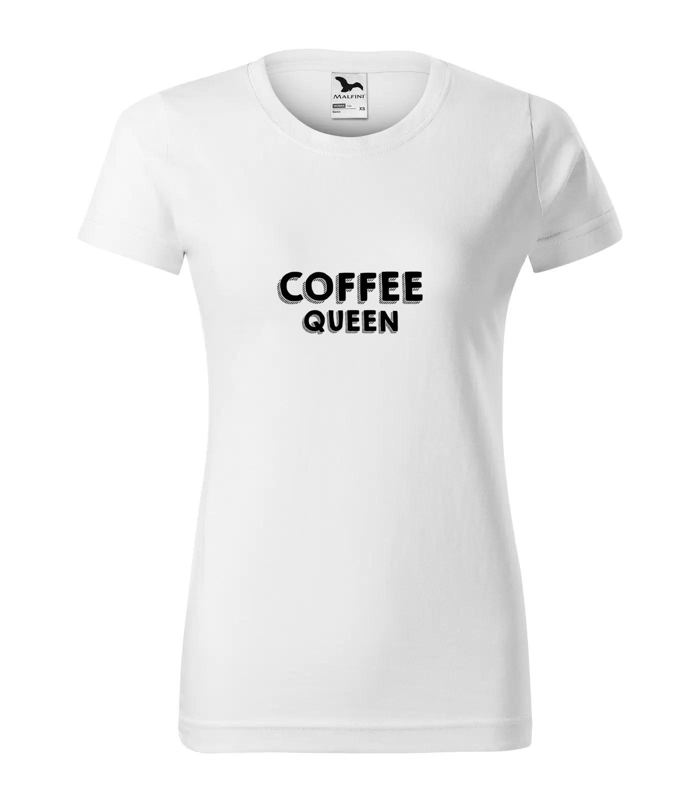 Tričko Coffee Queen