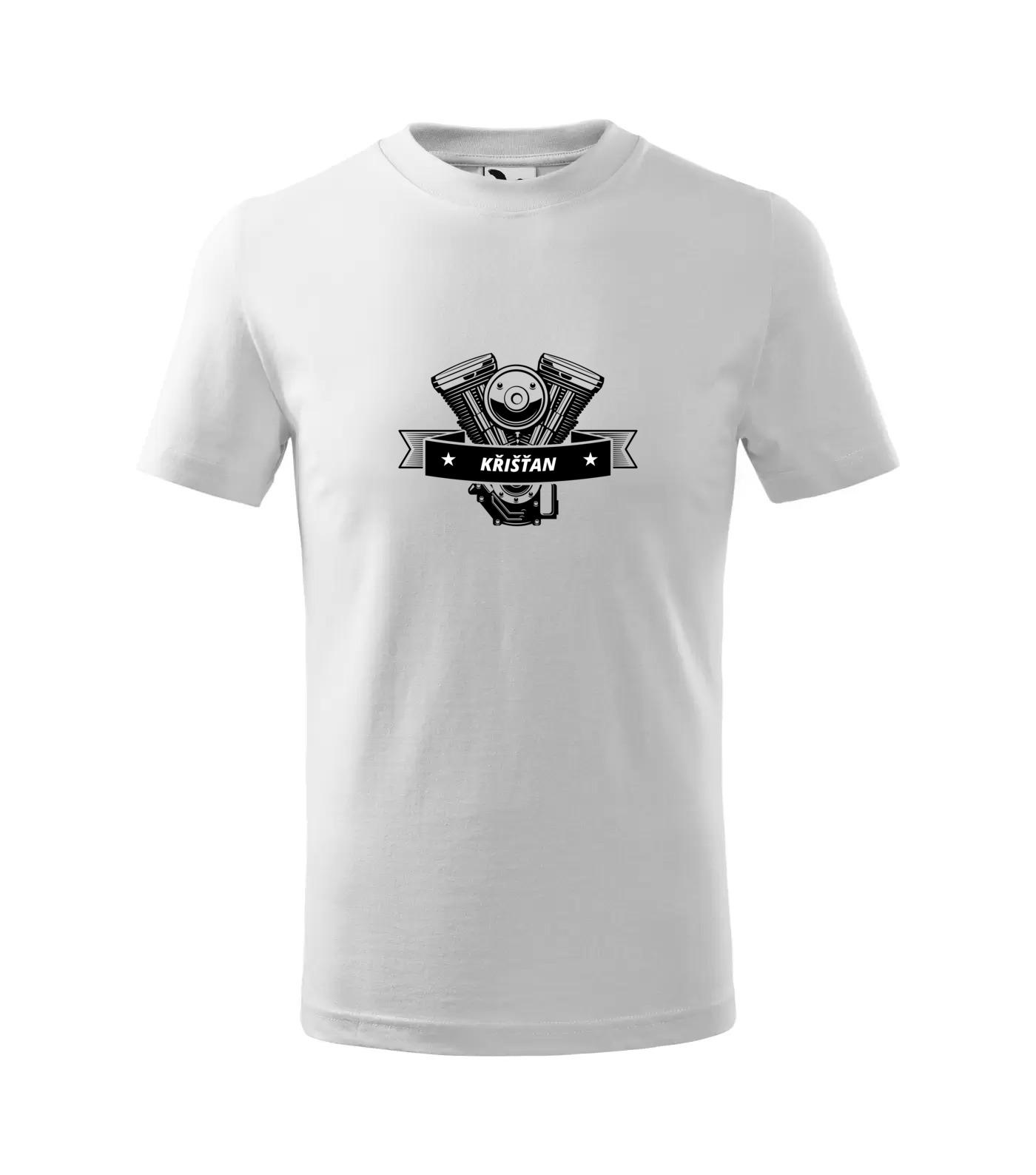 Tričko Motorkář Křišťan