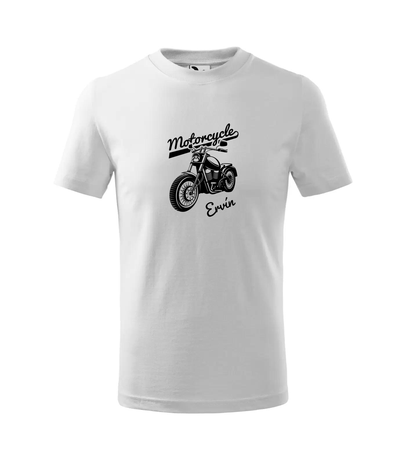 Tričko Motorkář Inverse Ervín