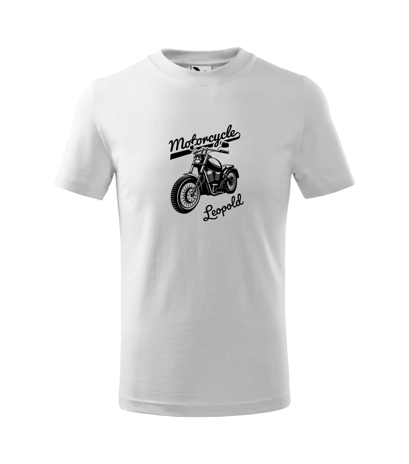 Tričko Motorkář Inverse Leopold