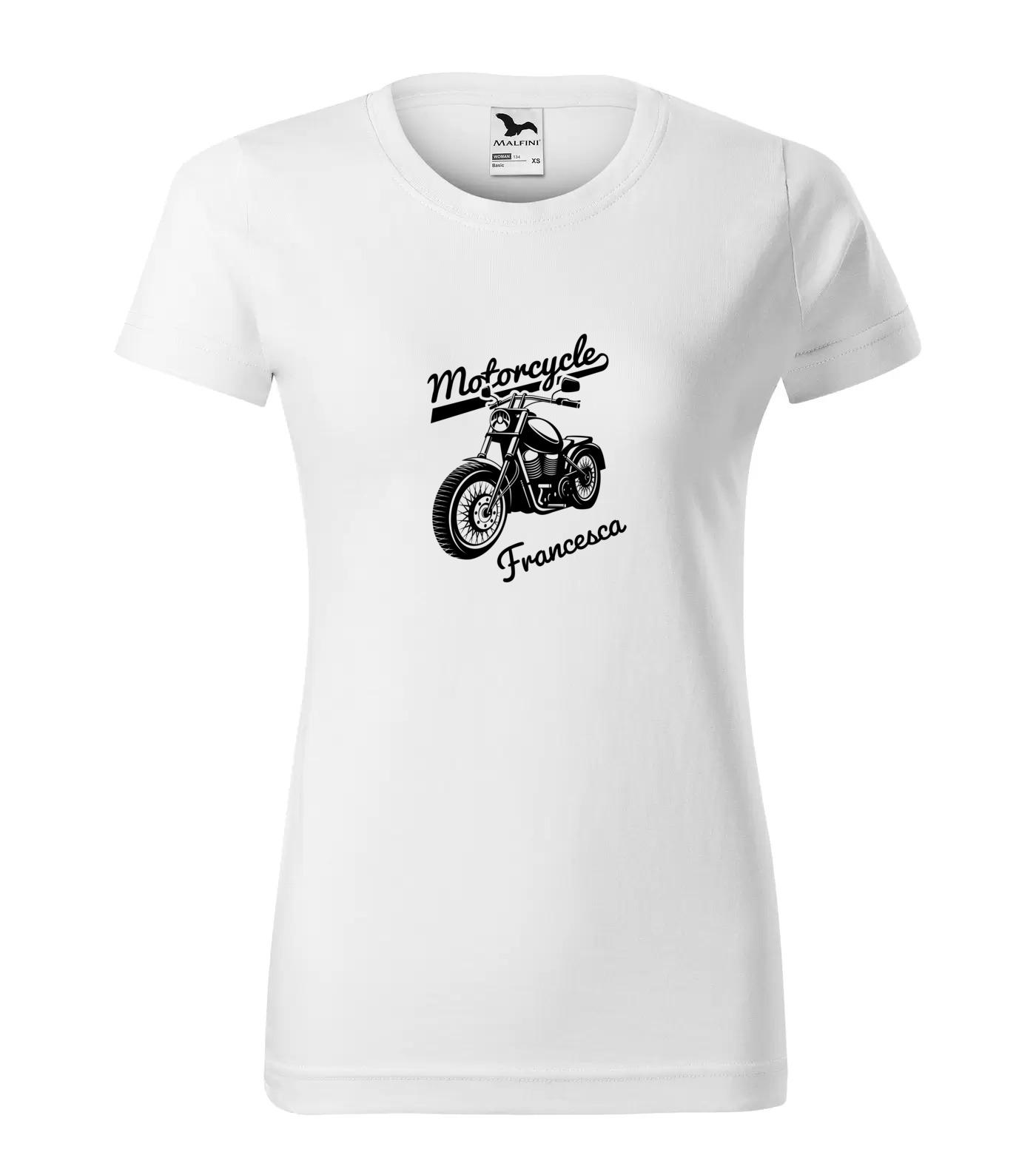 Tričko Motorkářka Francesca