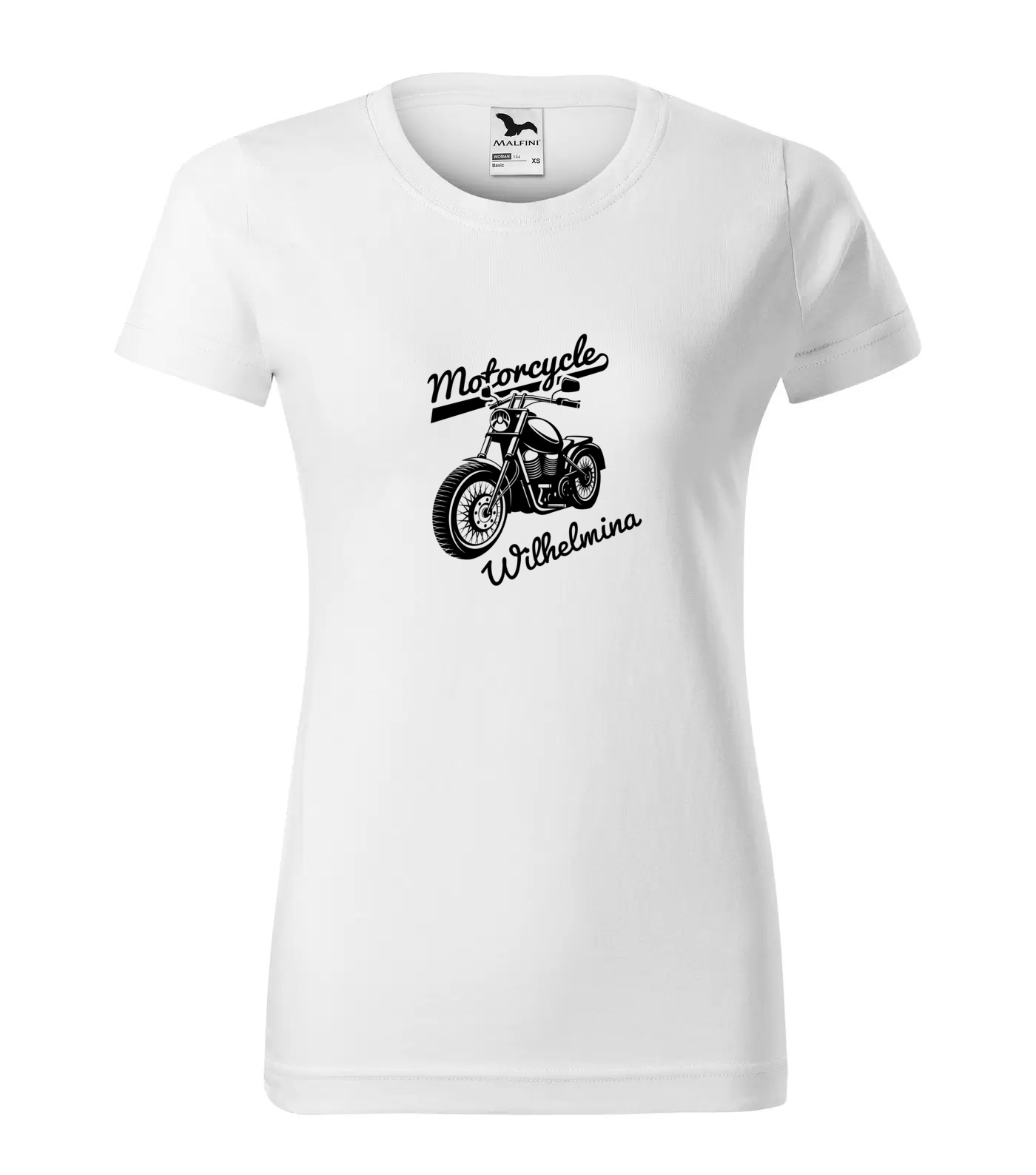 Tričko Motorkářka Wilhelmina