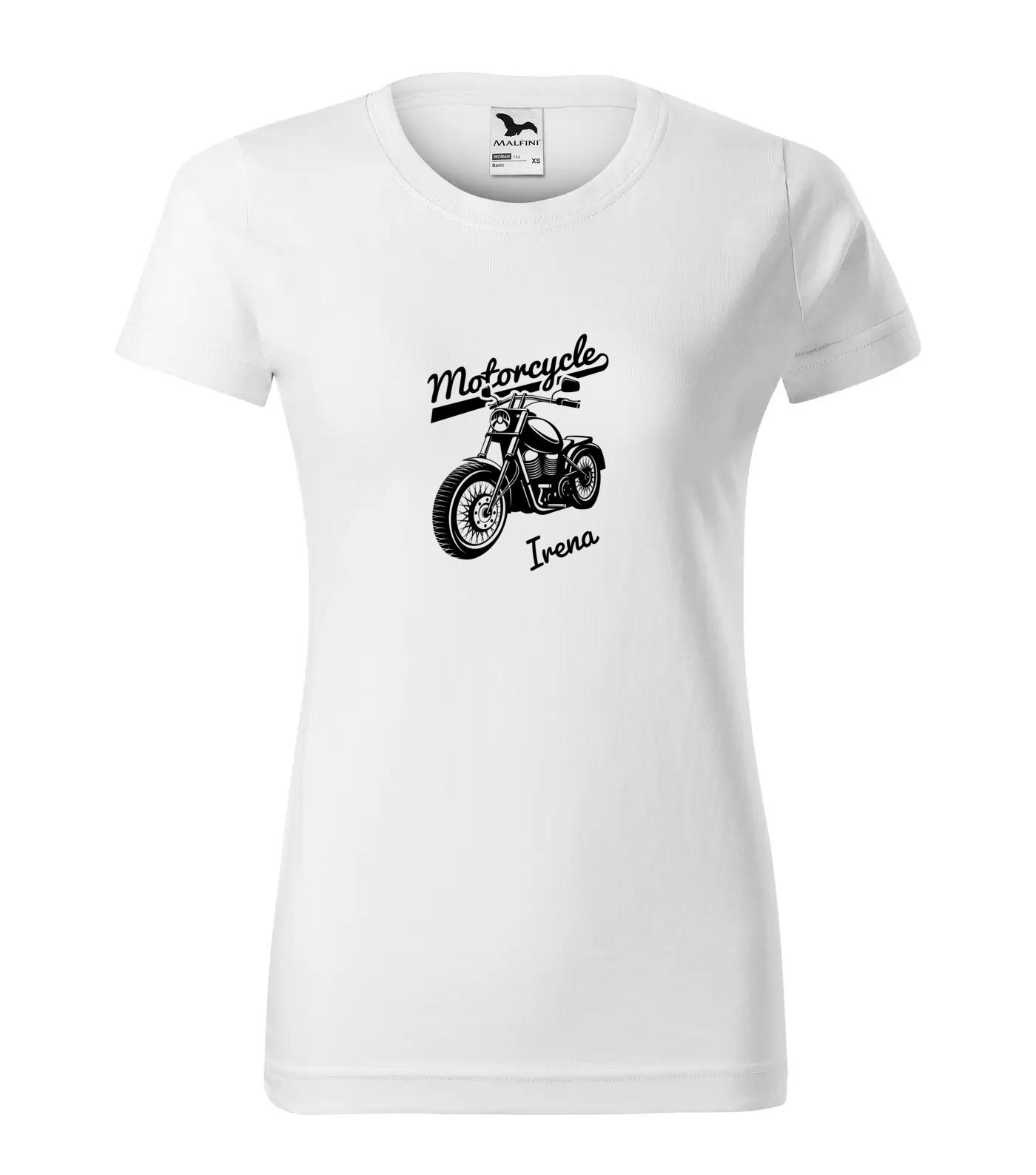 Tričko Motorkářka Irena