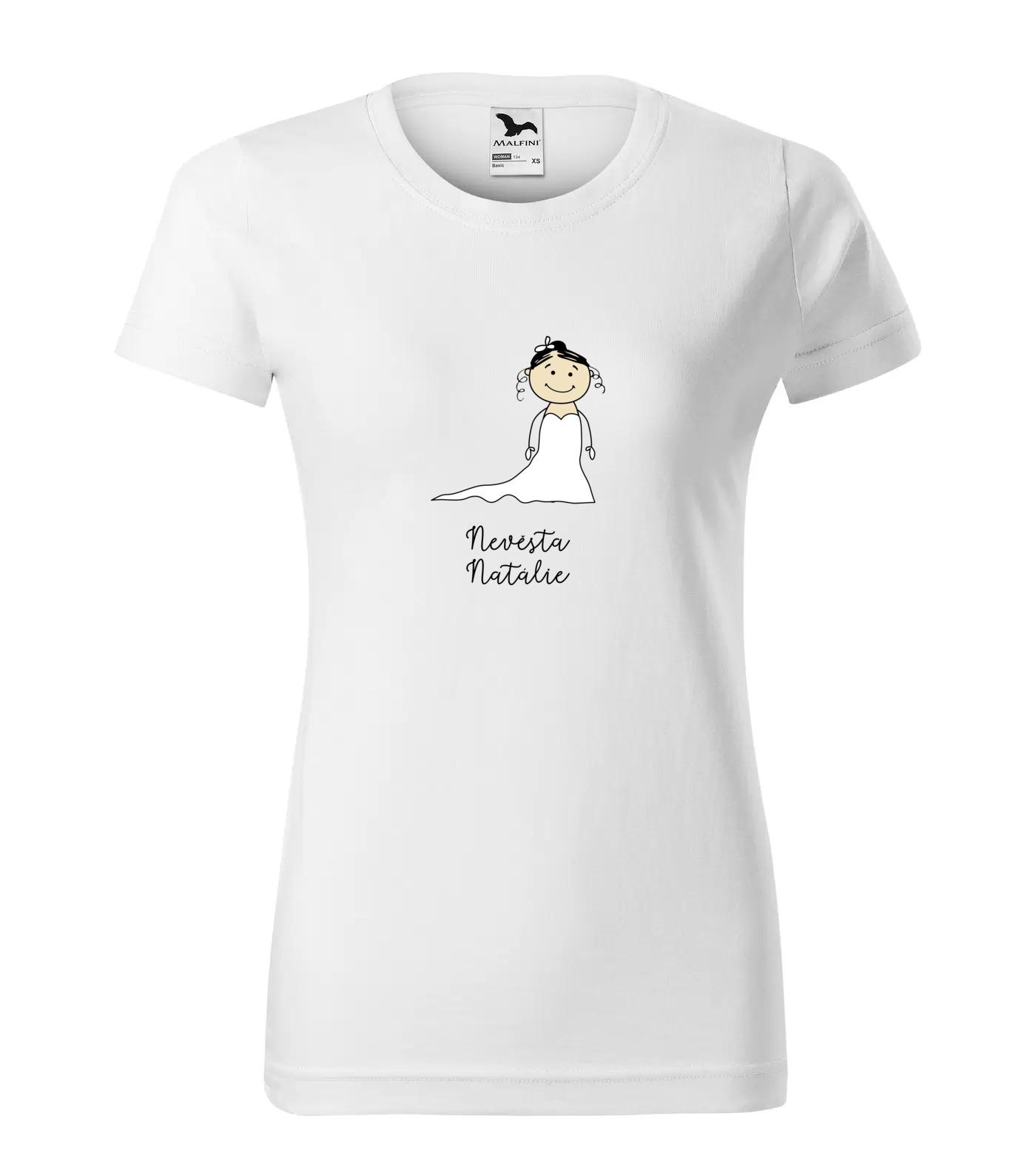 Tričko Nevěsta Natálie