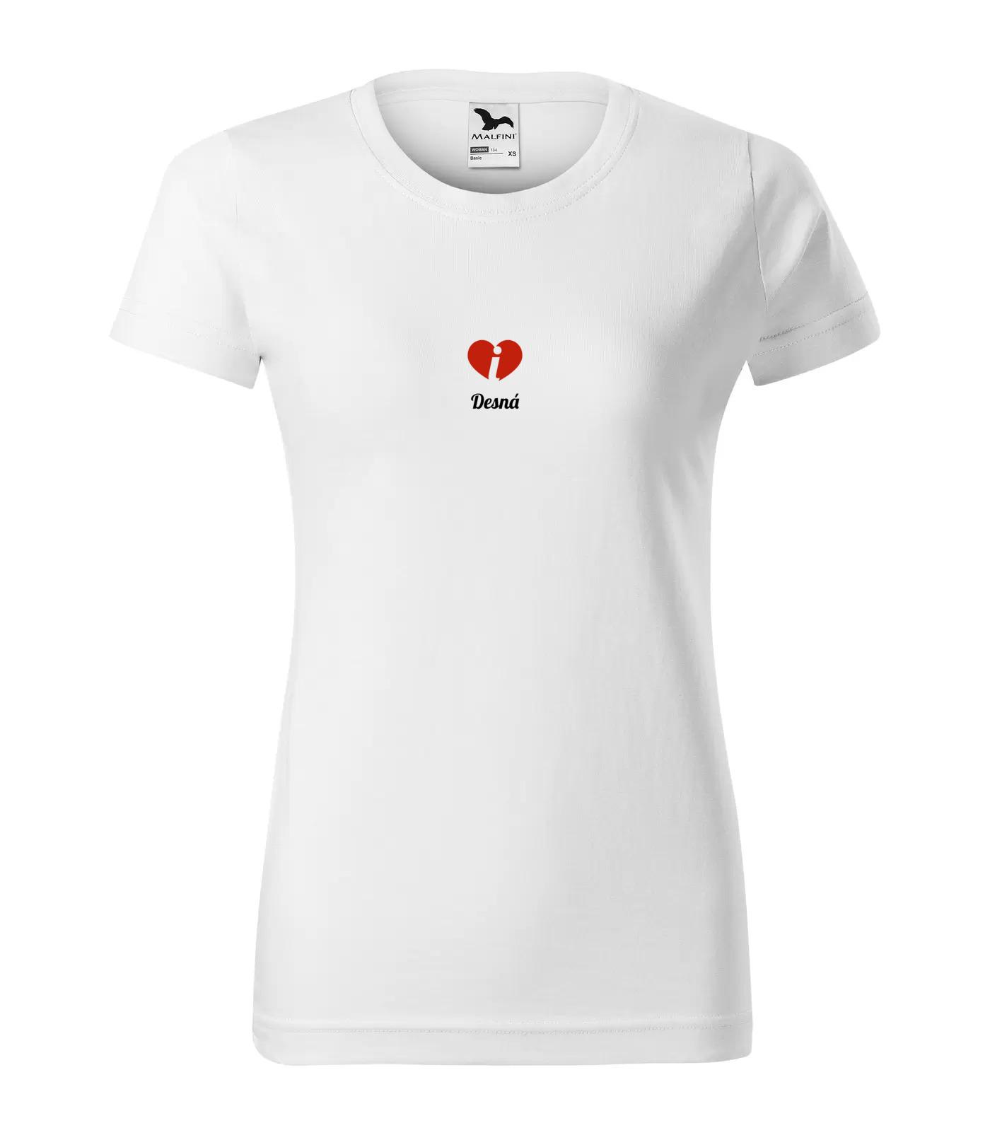 Tričko Desná