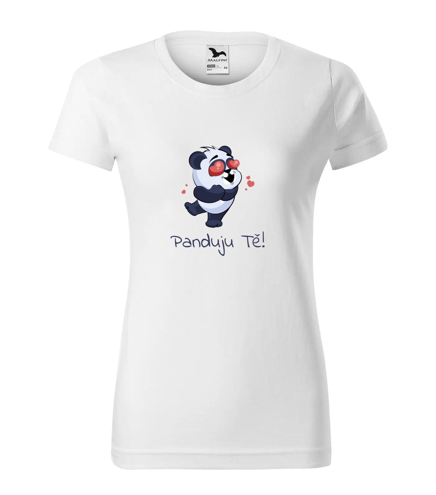 Tričko Panda Panduju Tě