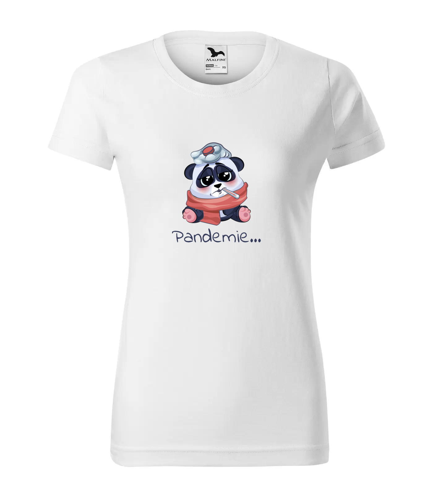 Tričko Panda Pandemie