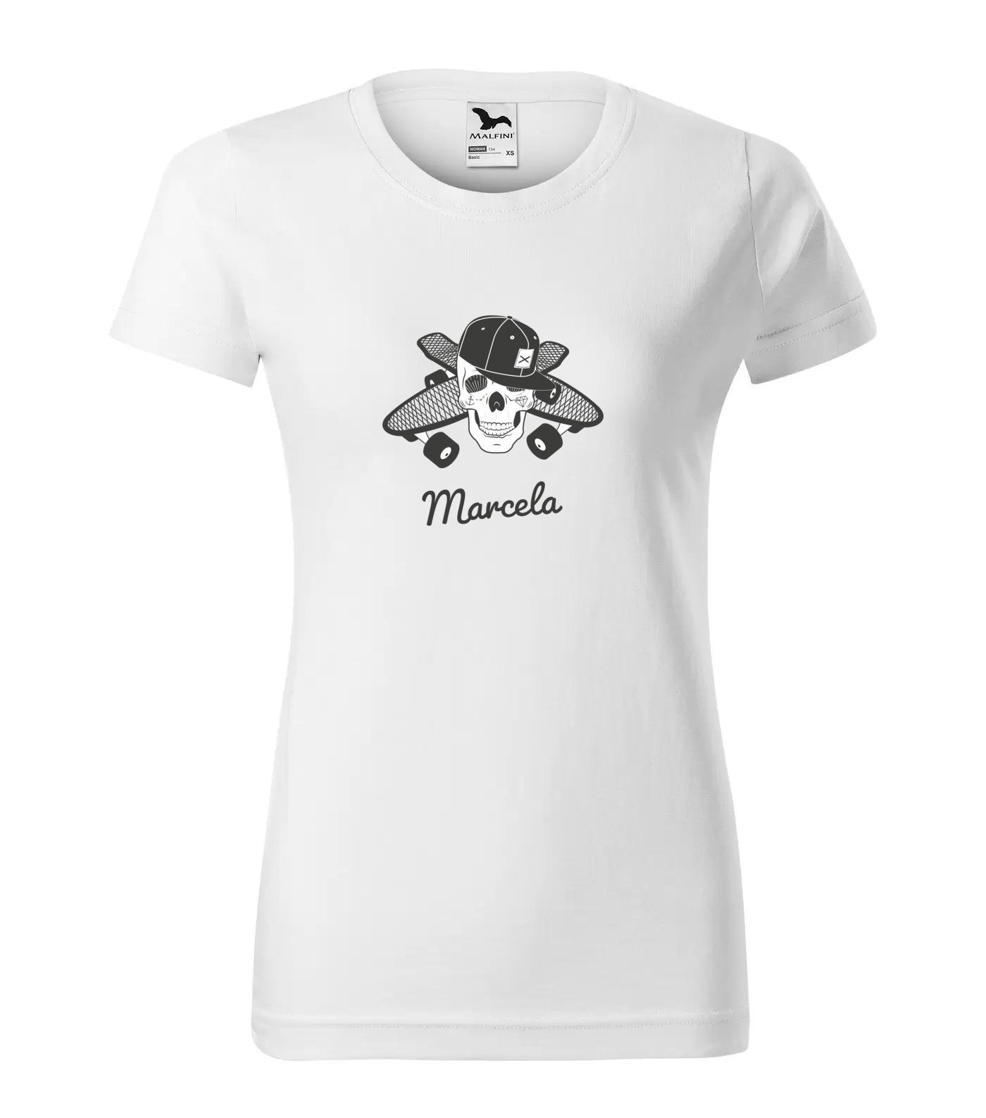 Tričko Skejťačka Marcela