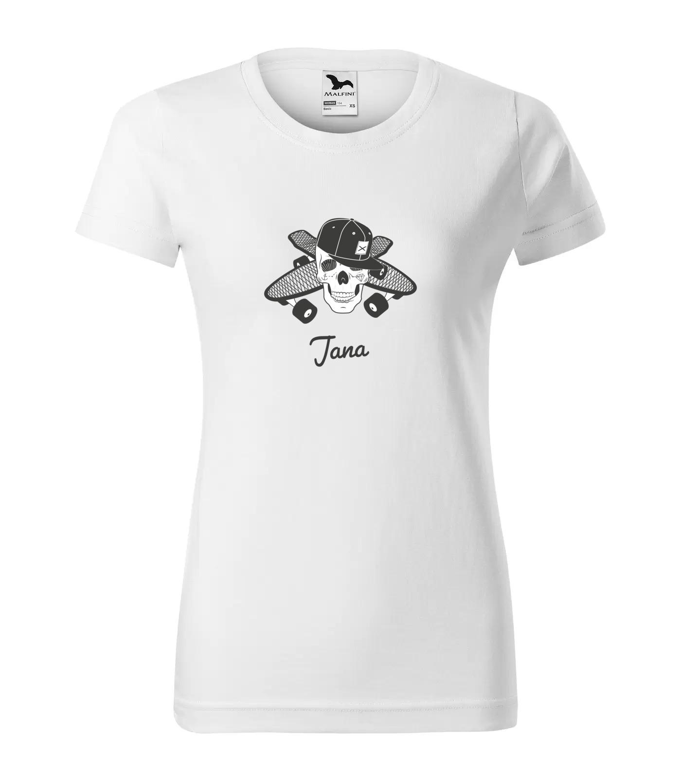 Tričko Skejťačka Jana