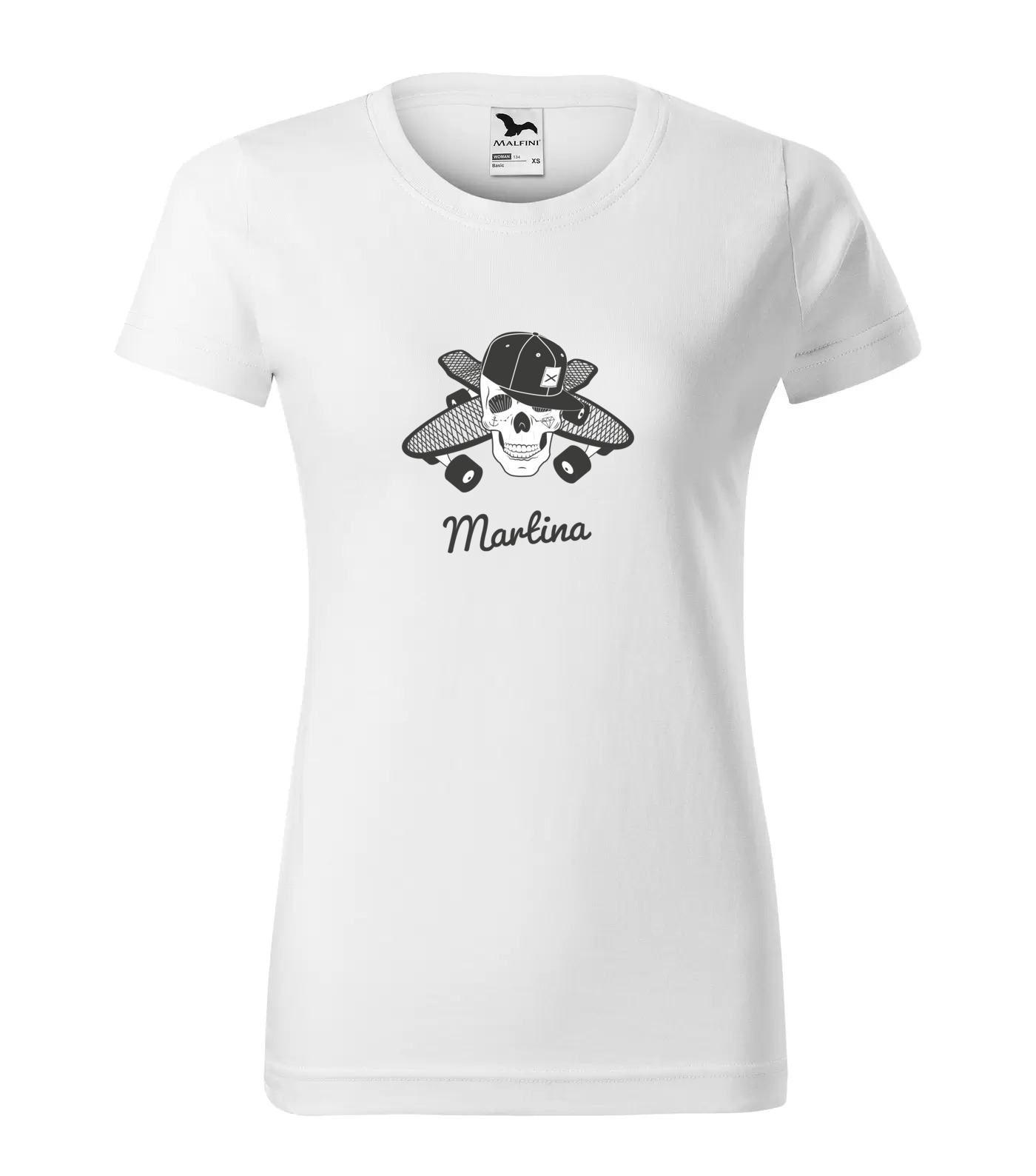 Tričko Skejťačka Martina