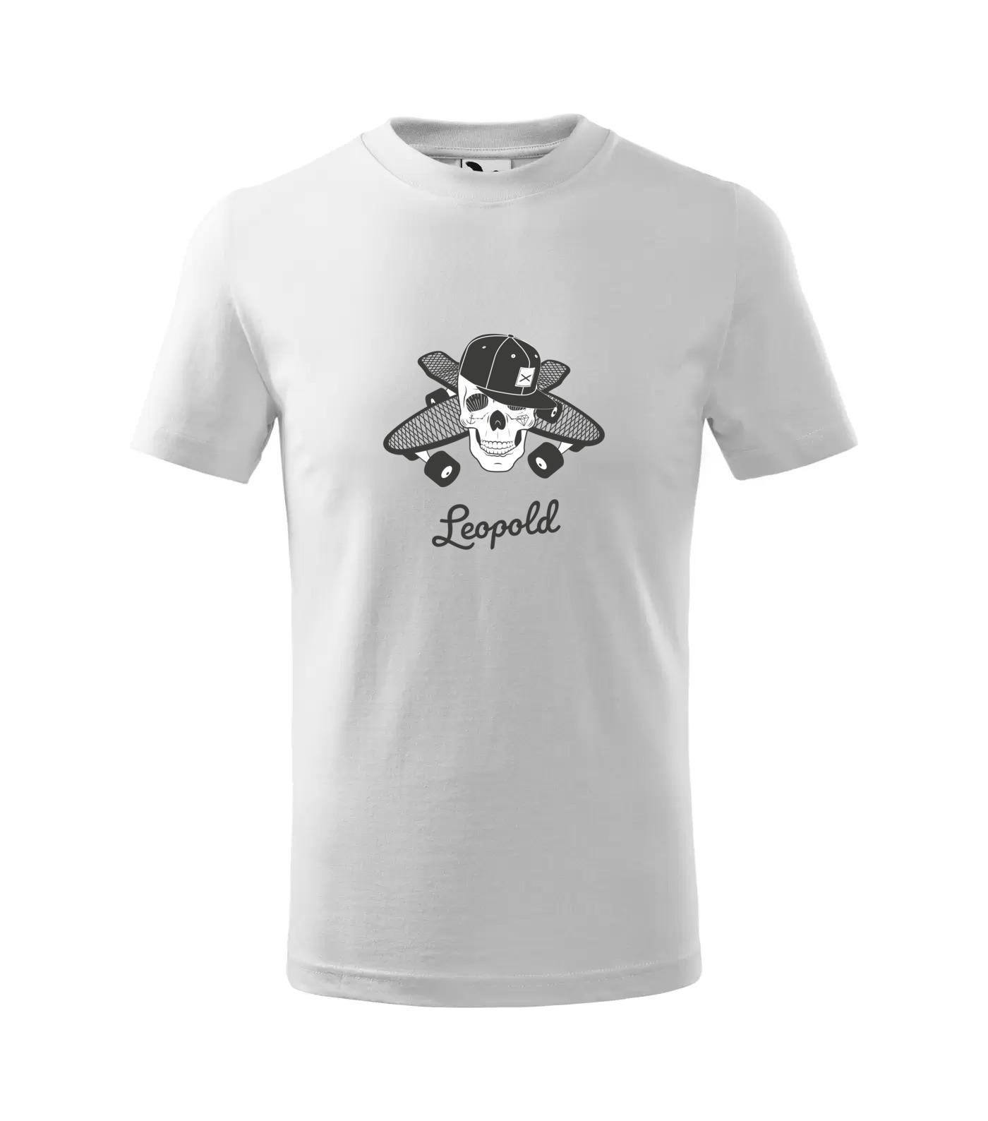 Tričko Skejťák Leopold