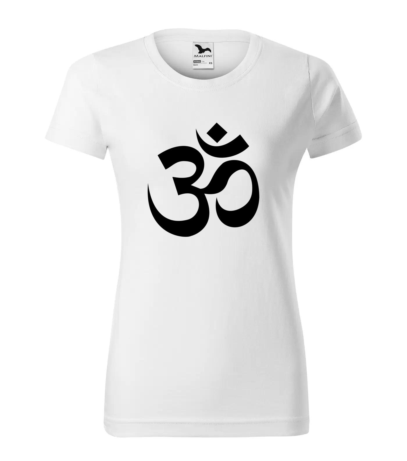 Tričko Yoga Om Devanagari